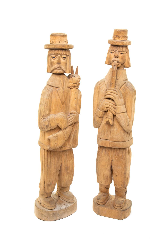 Para muzykantów: klarnecista i dudziarz