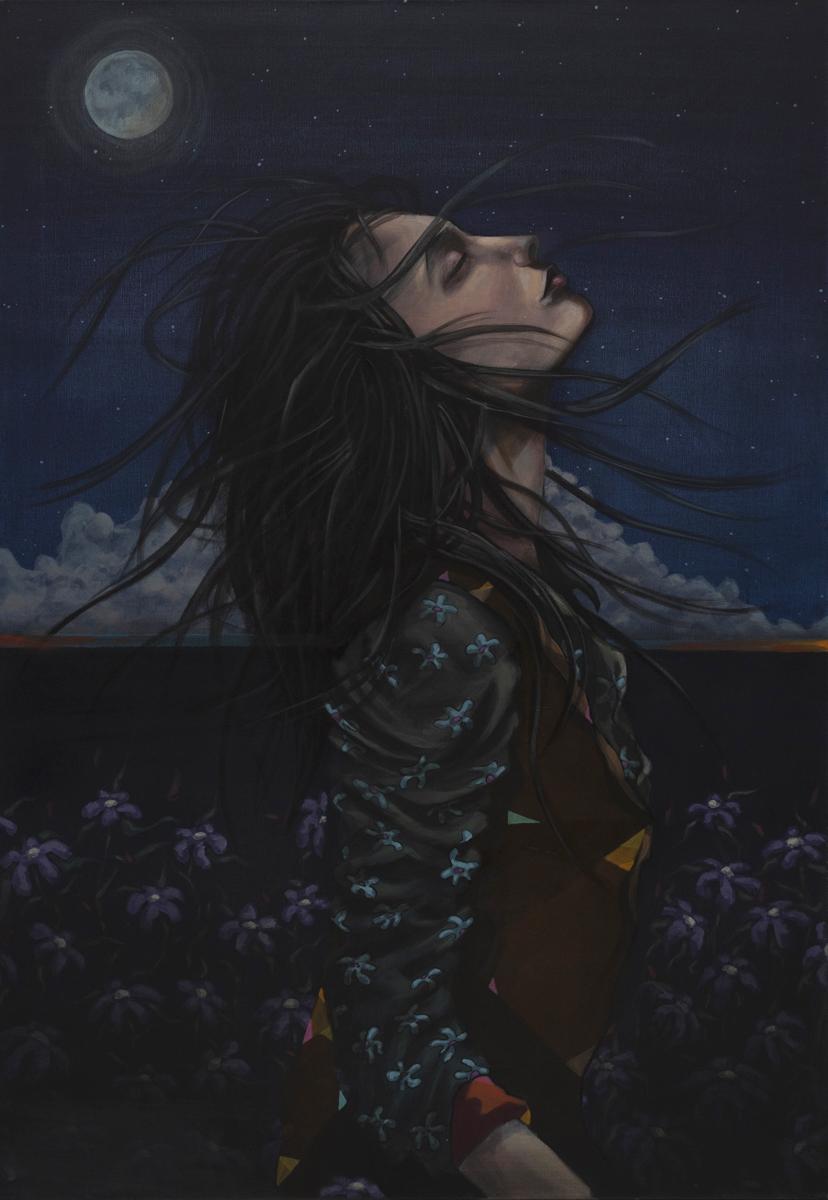 Kissing the night sky, 2017