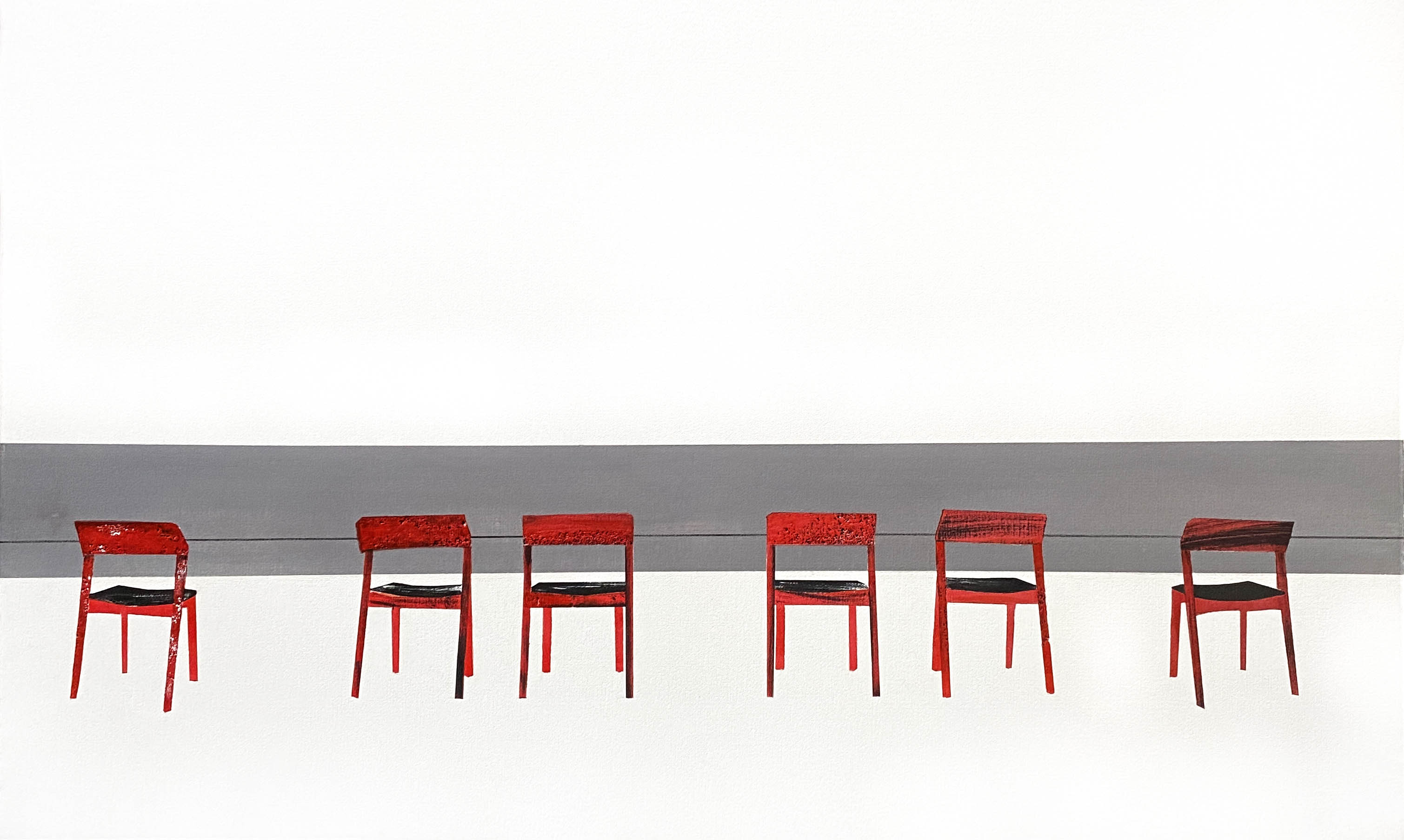 Red chairs (2020)