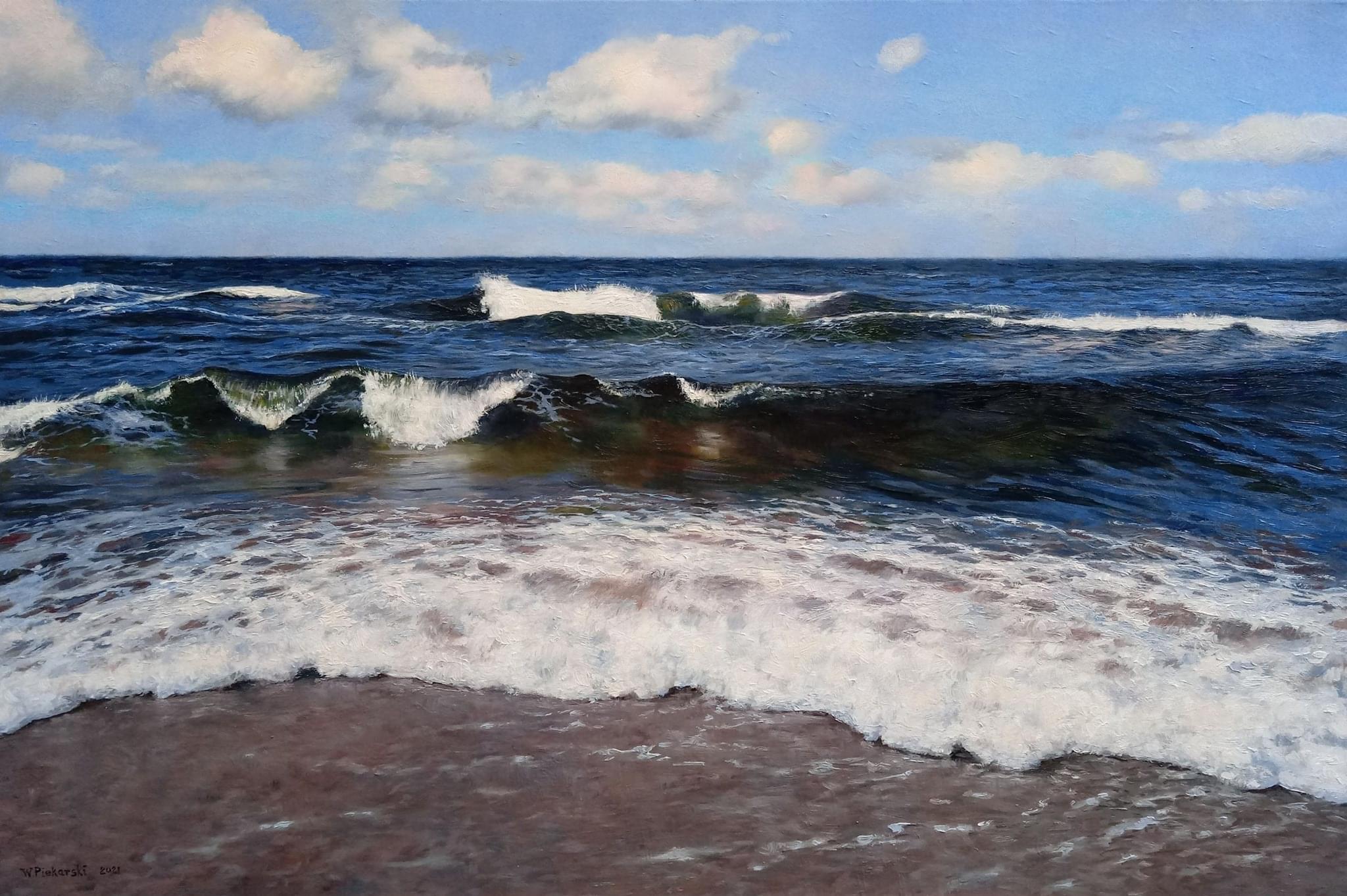 Pejzaż morski (2021)