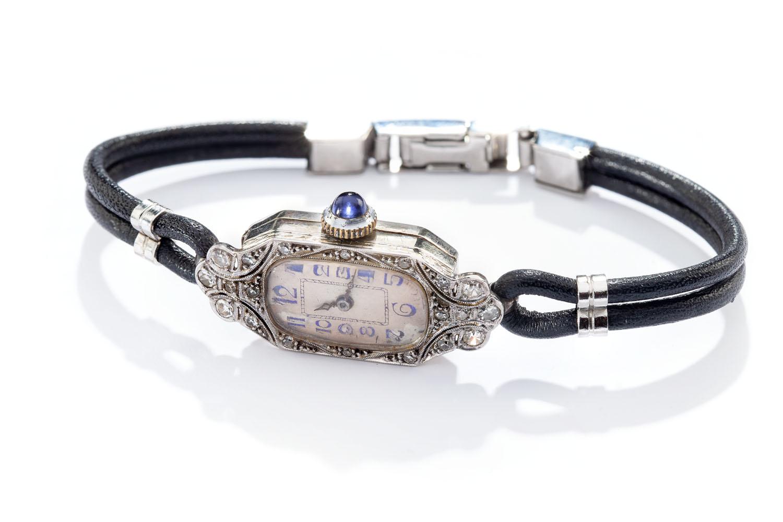 Zegarek damski art déco, lata 20. XX w., Mido, Szwajcaria