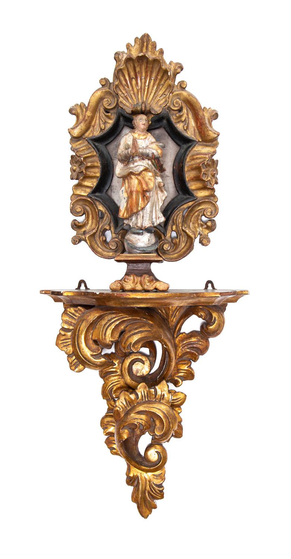 Figura Madonny Immaculaty, XIX w.