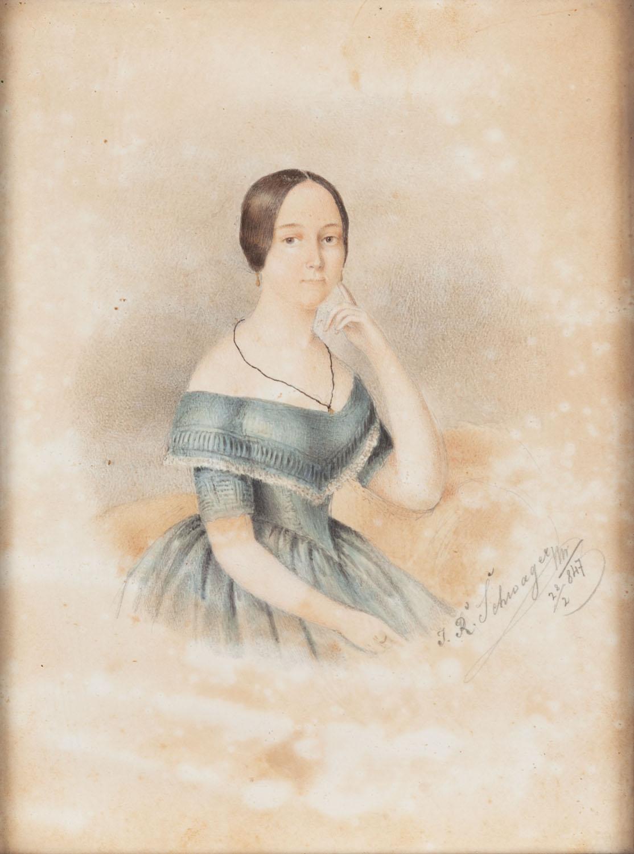 Portret młodej kobiety, 1847