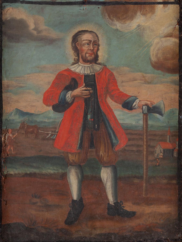Wizerunek św. Trudperta