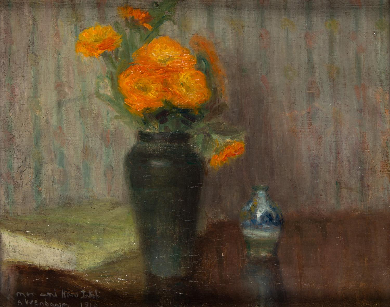 Martwa natura z bukietem kwiatów w wazonie, 1910