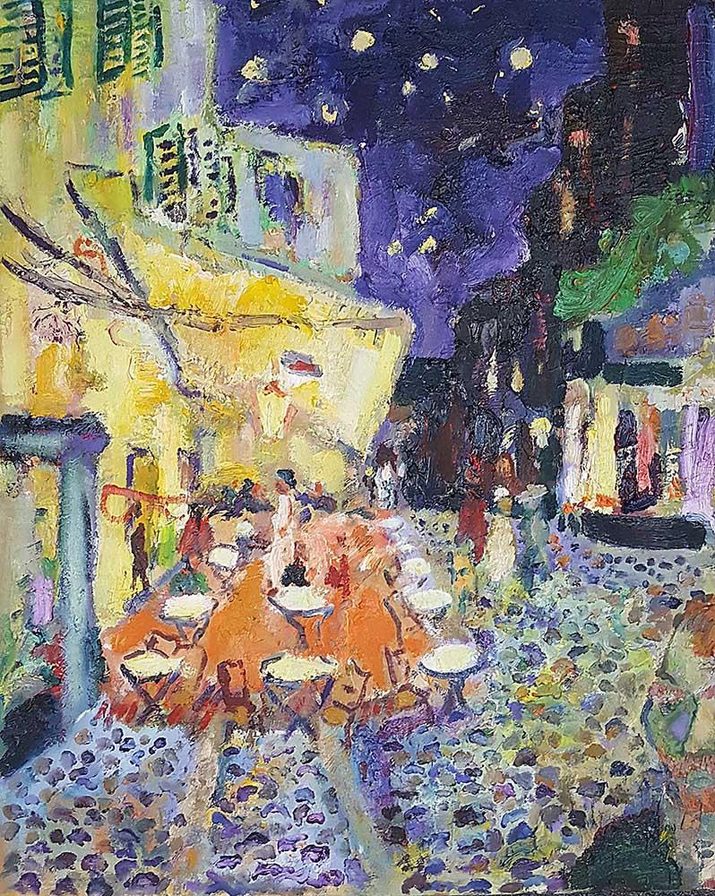 Kawiarnia Van Gogha, 2020