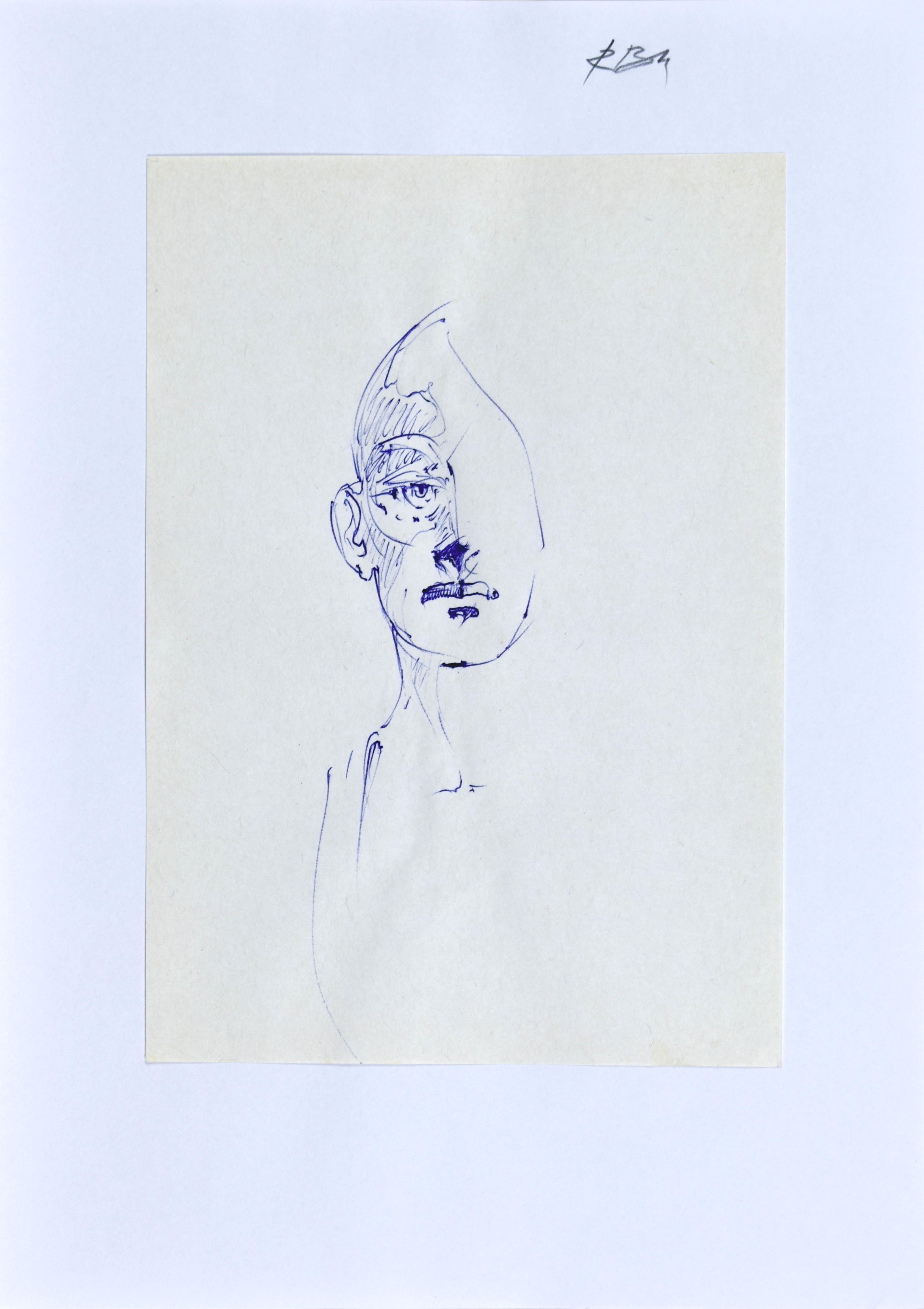 Szkic popiersia mężczyzny