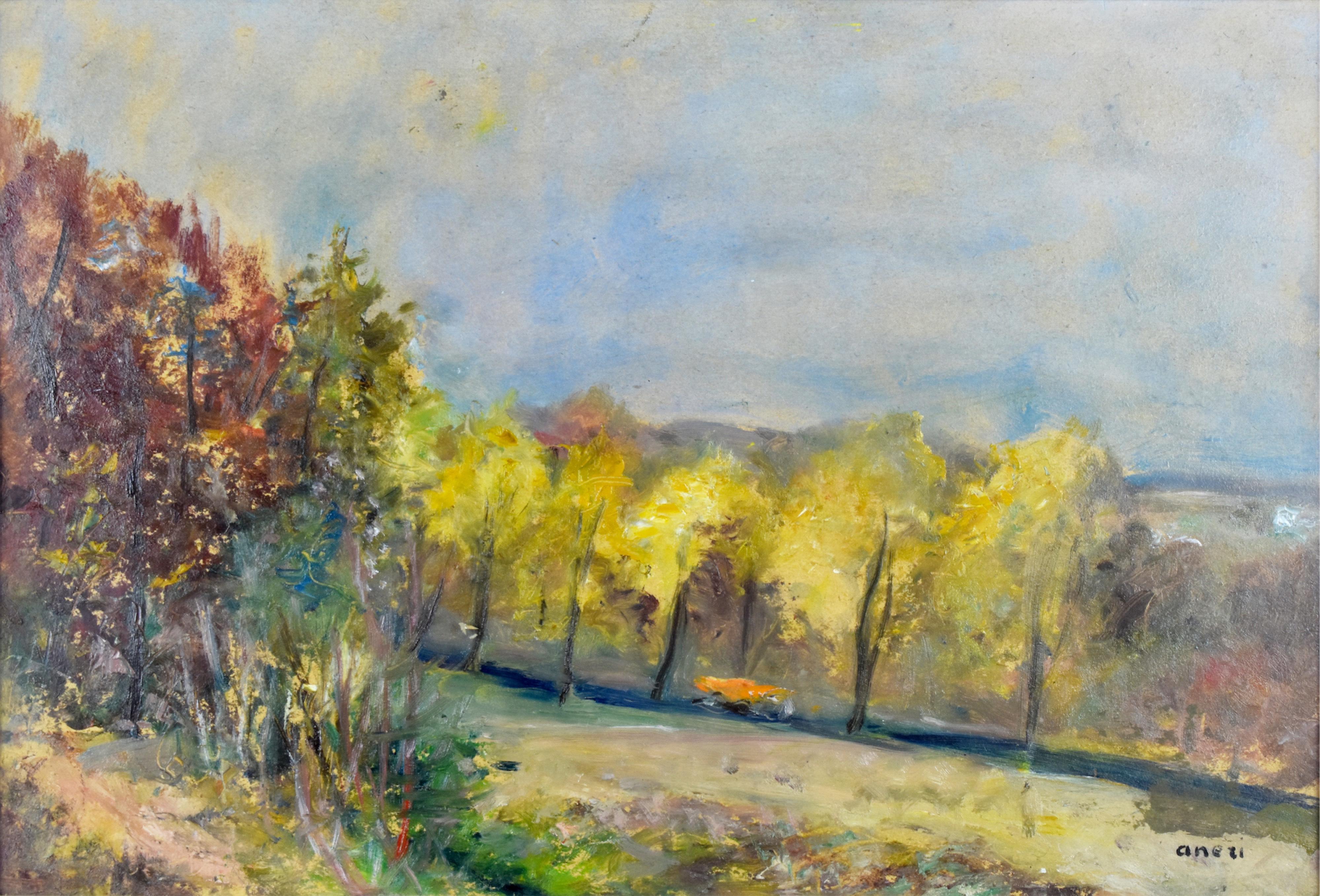 Pejzaż jesienny I - Kalwaria, 1970