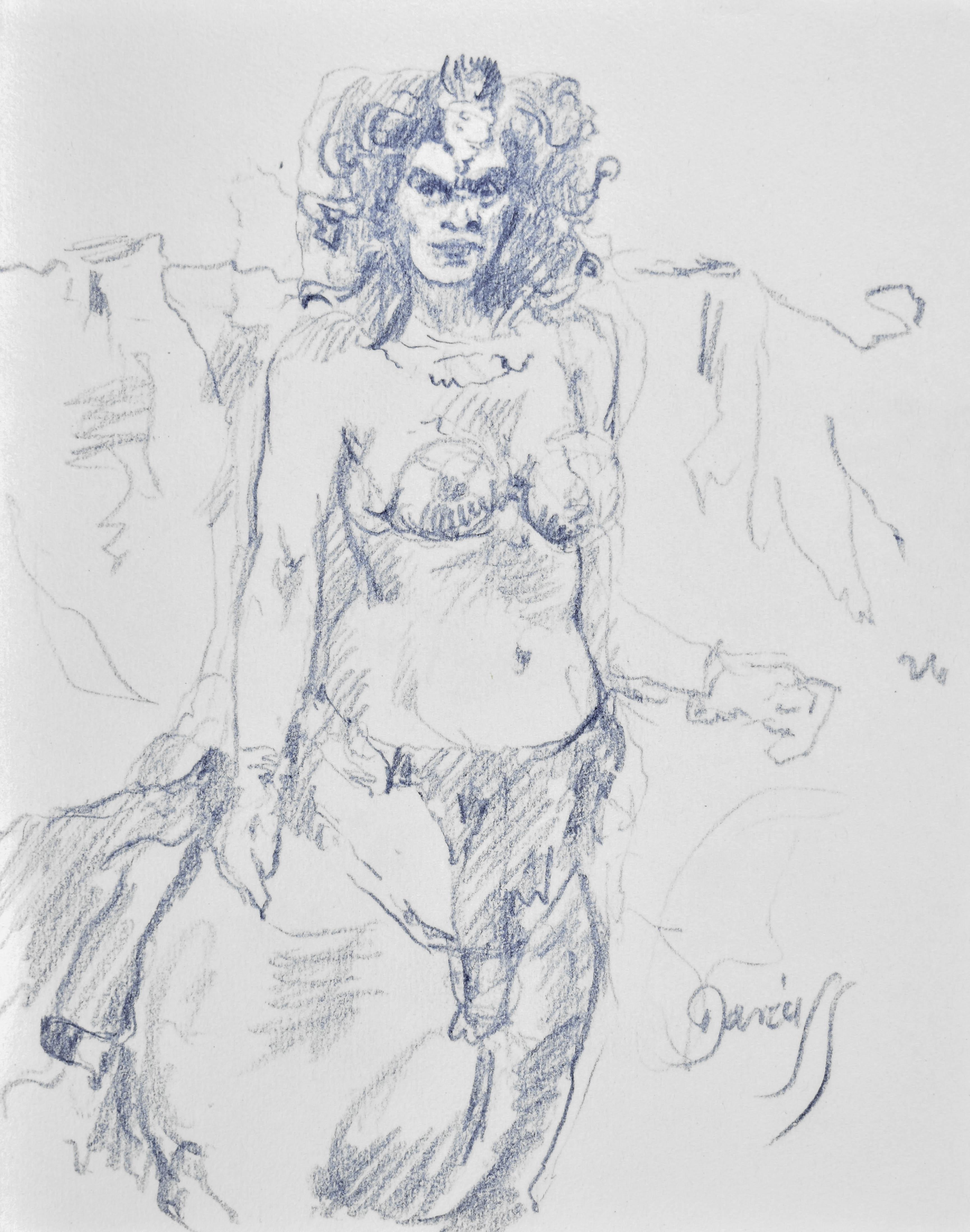 Szkic kobiety