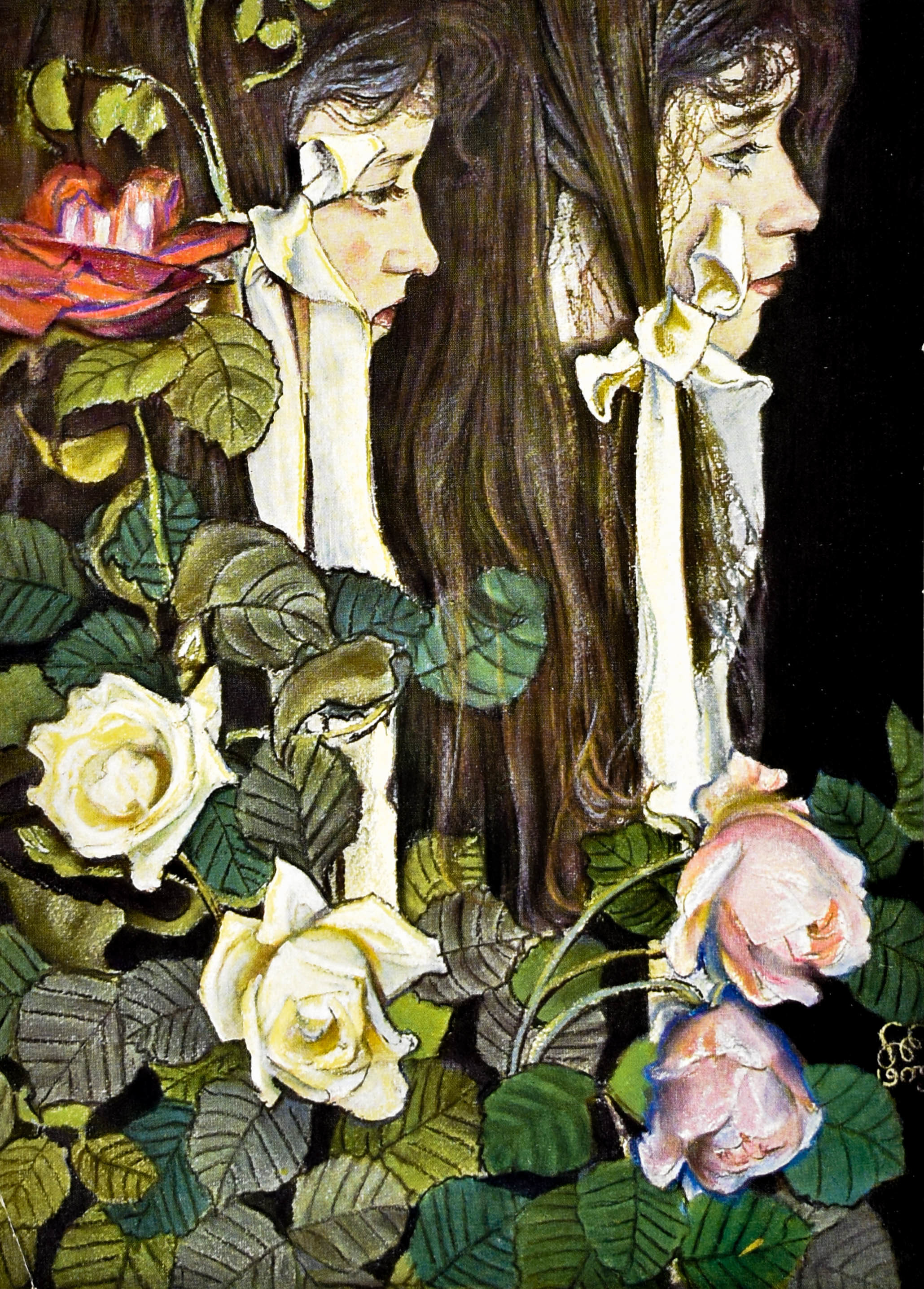 Podwójny portret Lizy Pareńskiej, 1905