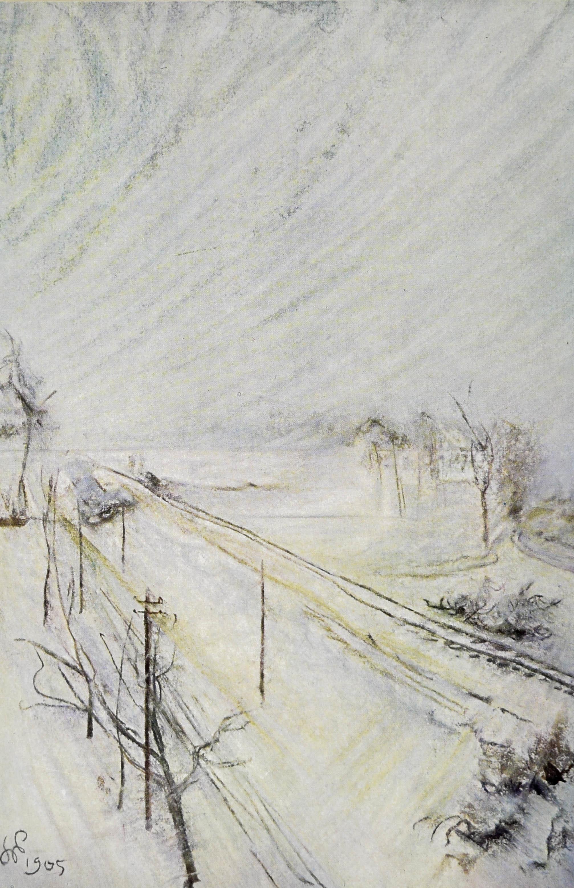 Pejzaż, 1905