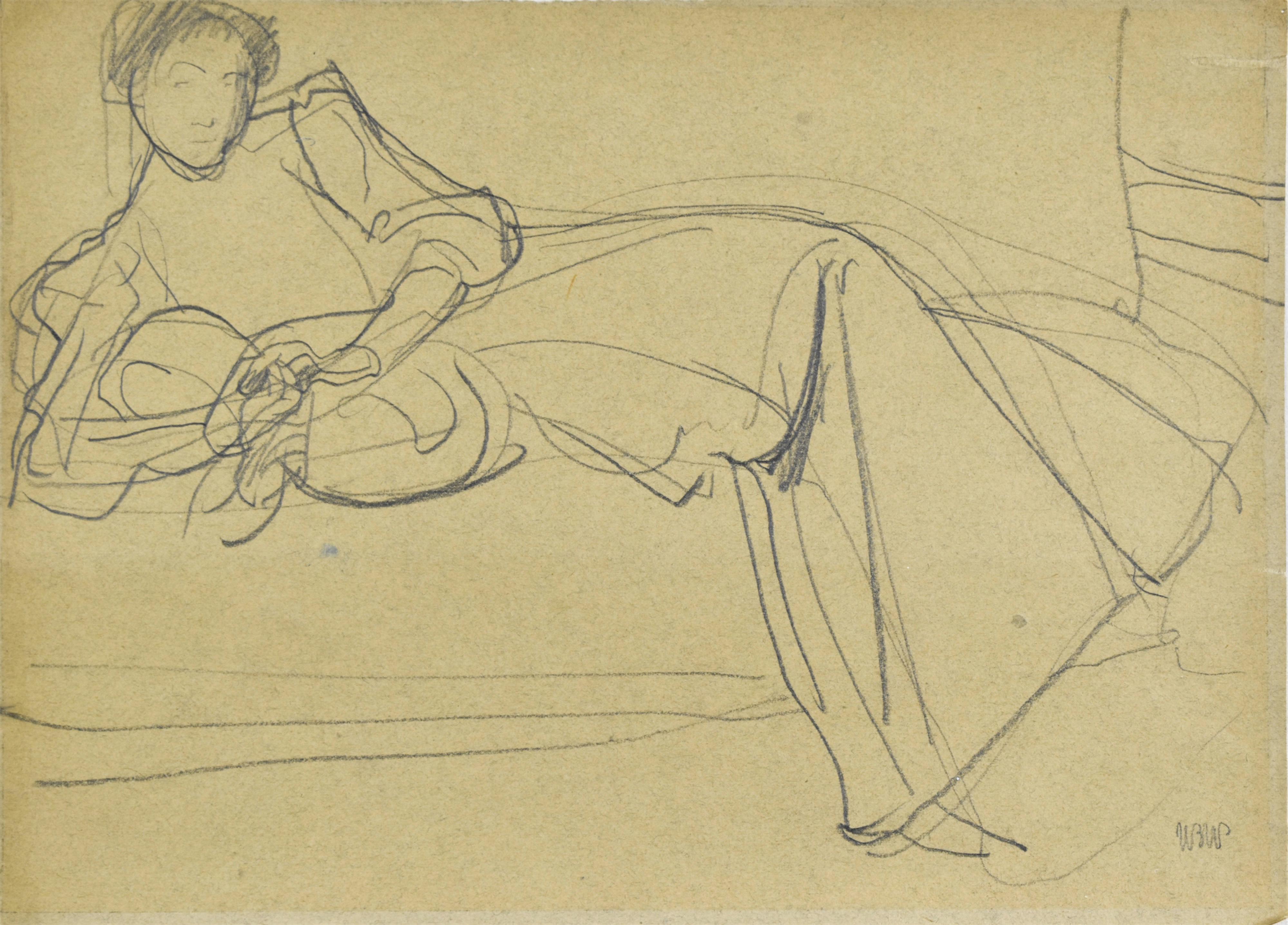 Odpoczynek, ok. 1907