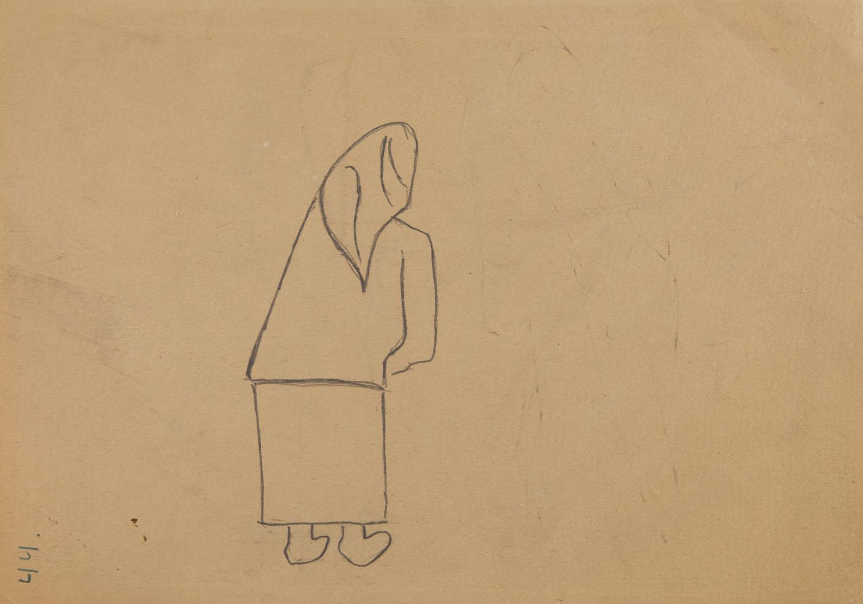 "Baba z cyklu ""Małorolni"" , 1950"