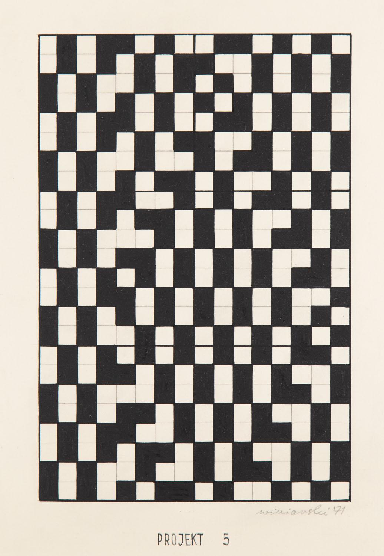 """Projekt 5"", 1971"