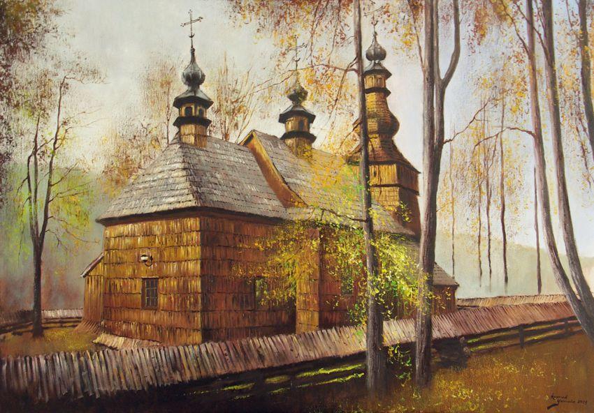 Cerkiew w Ropicy Górnej, 2021 r.