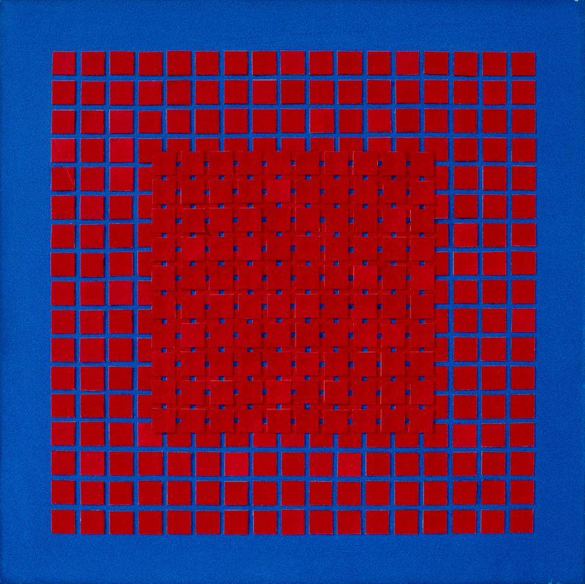 Relief w czerwonym kwadracie, 2021 r.