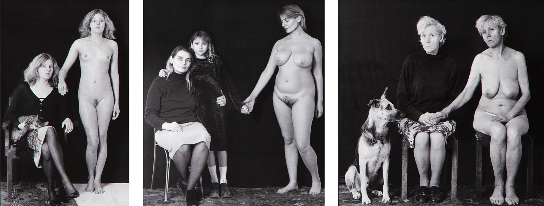 """""""Portret podwójny"""" - tryptyk , 2001/2021"""