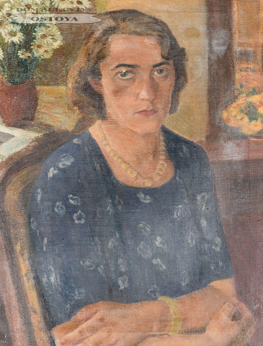PORTRET WŁADYSŁAWY OSTROWSKIEJ, 1946