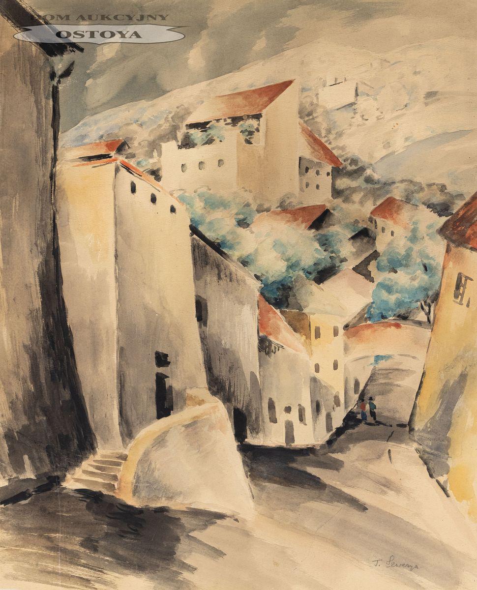 ULICZKA WŁOSKA, 1929