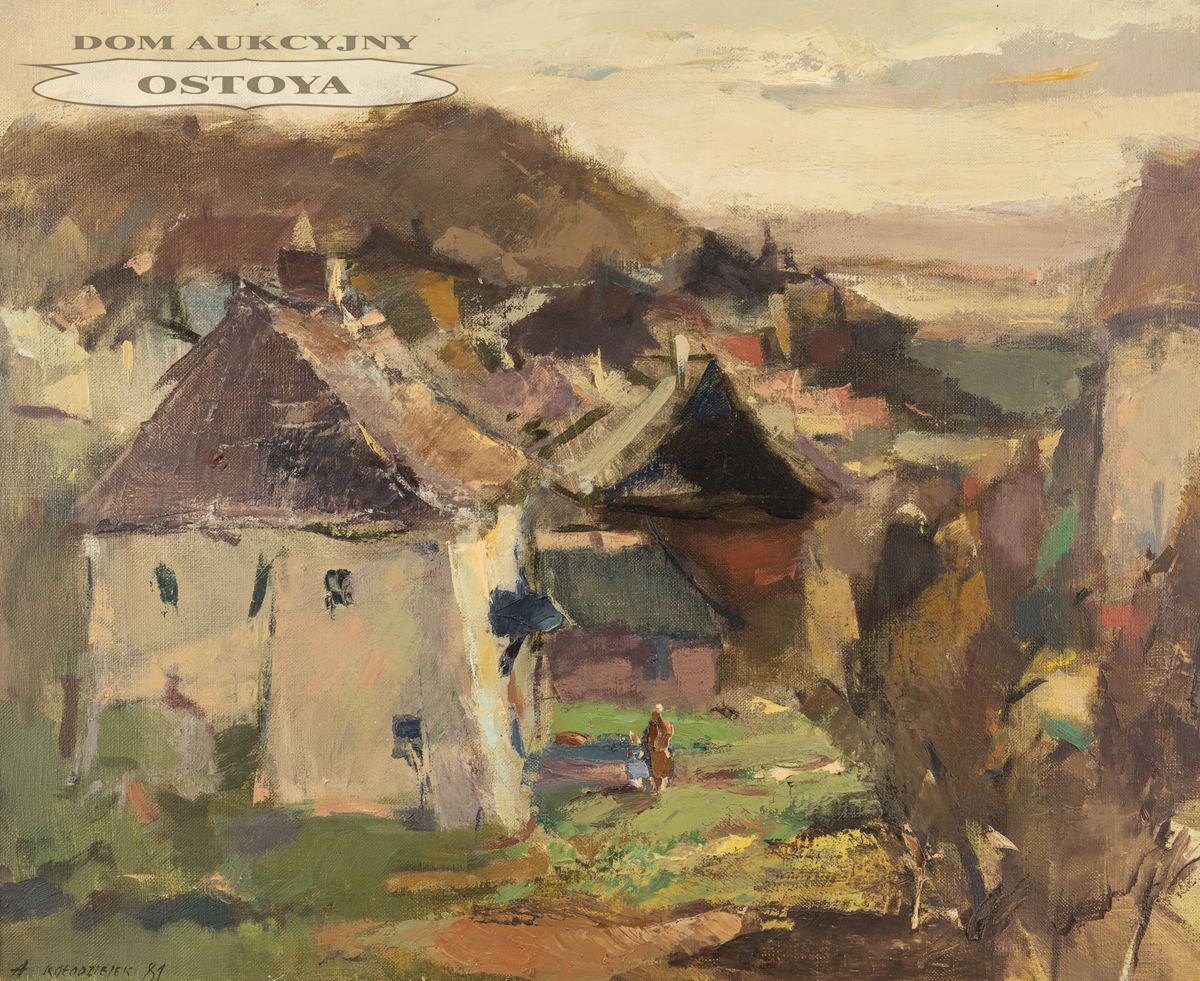 PEJZAŻ KAZIMIERSKI, 1981
