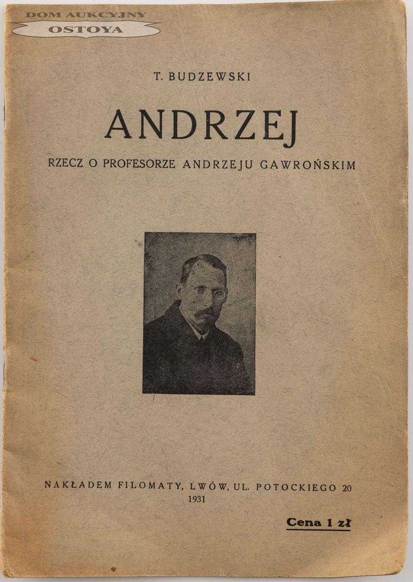 T. BUDZEWSKI (Zofia KOZARYNOWA)