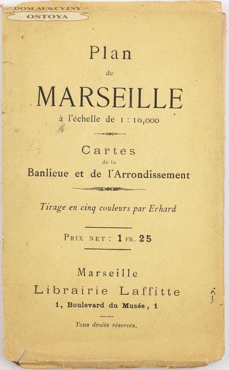 PLAN MARSYLII, Henri Leleu, 1884