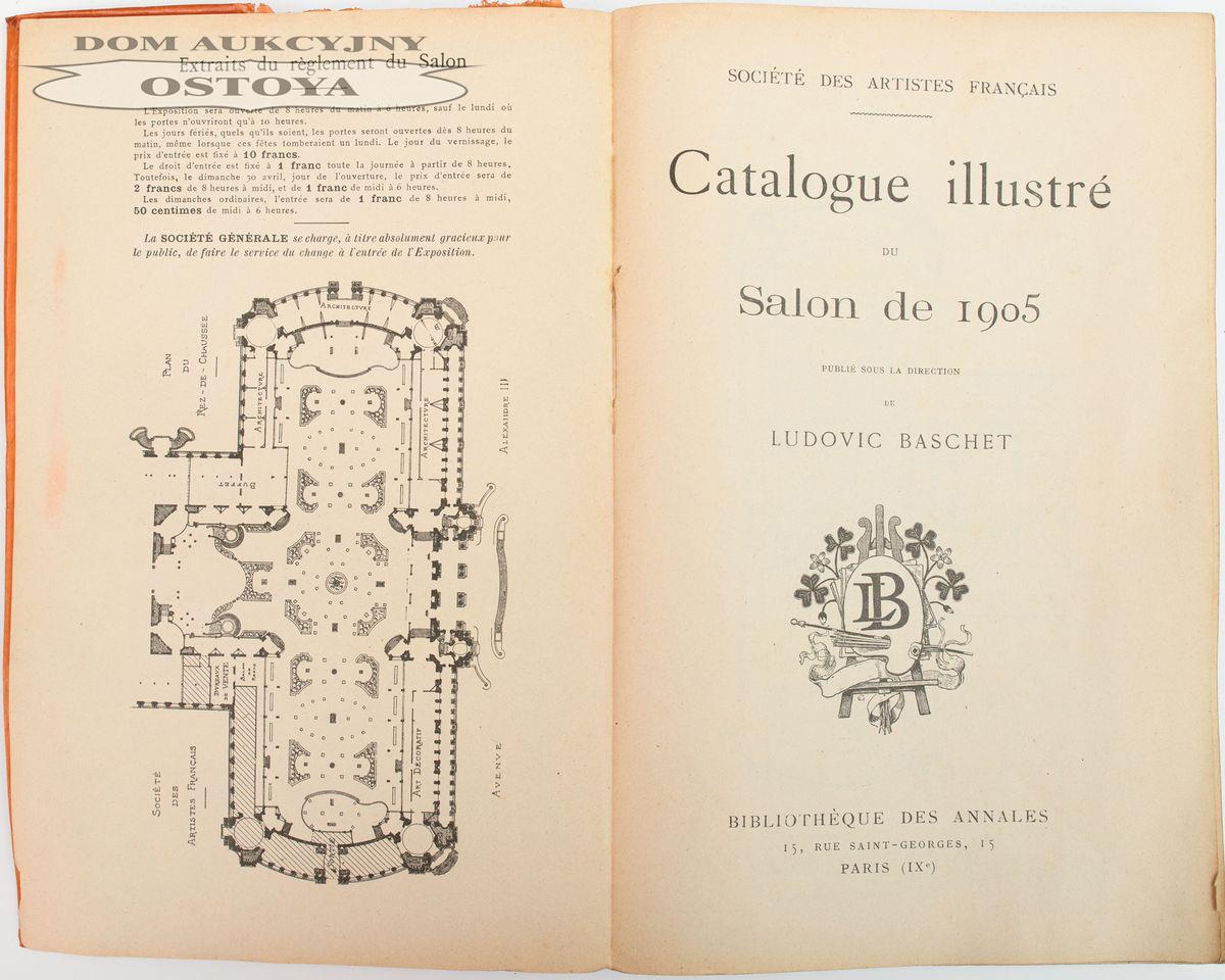 CATALOGUE ILLUSTRÉ DU SALON DE 1905