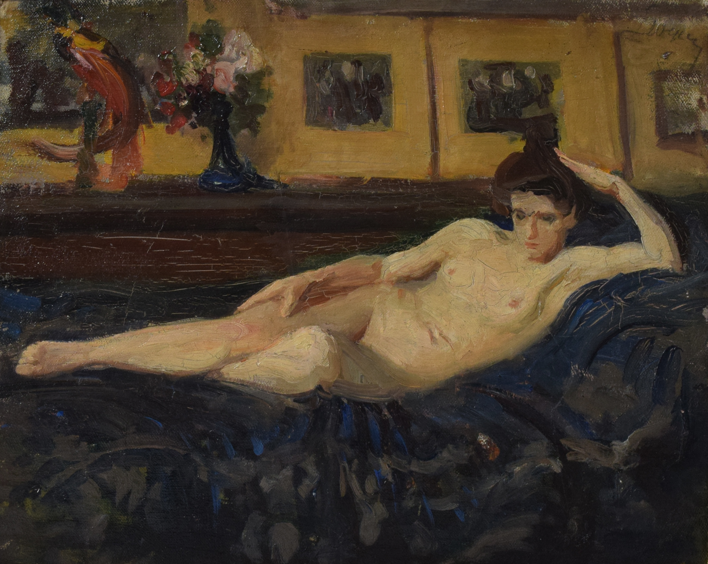 Akt leżącej kobiety