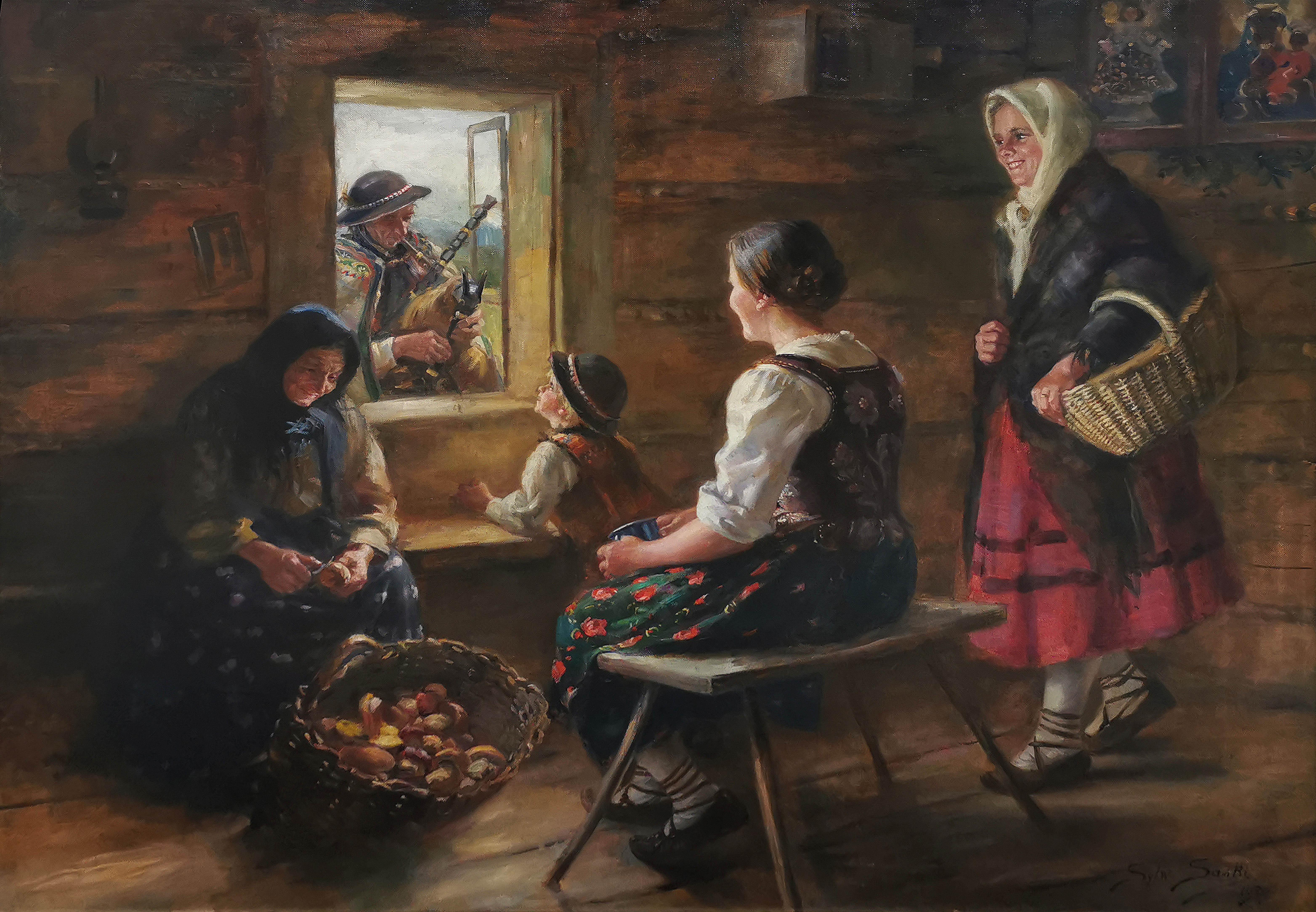 Pieśń dudziarza, 1929