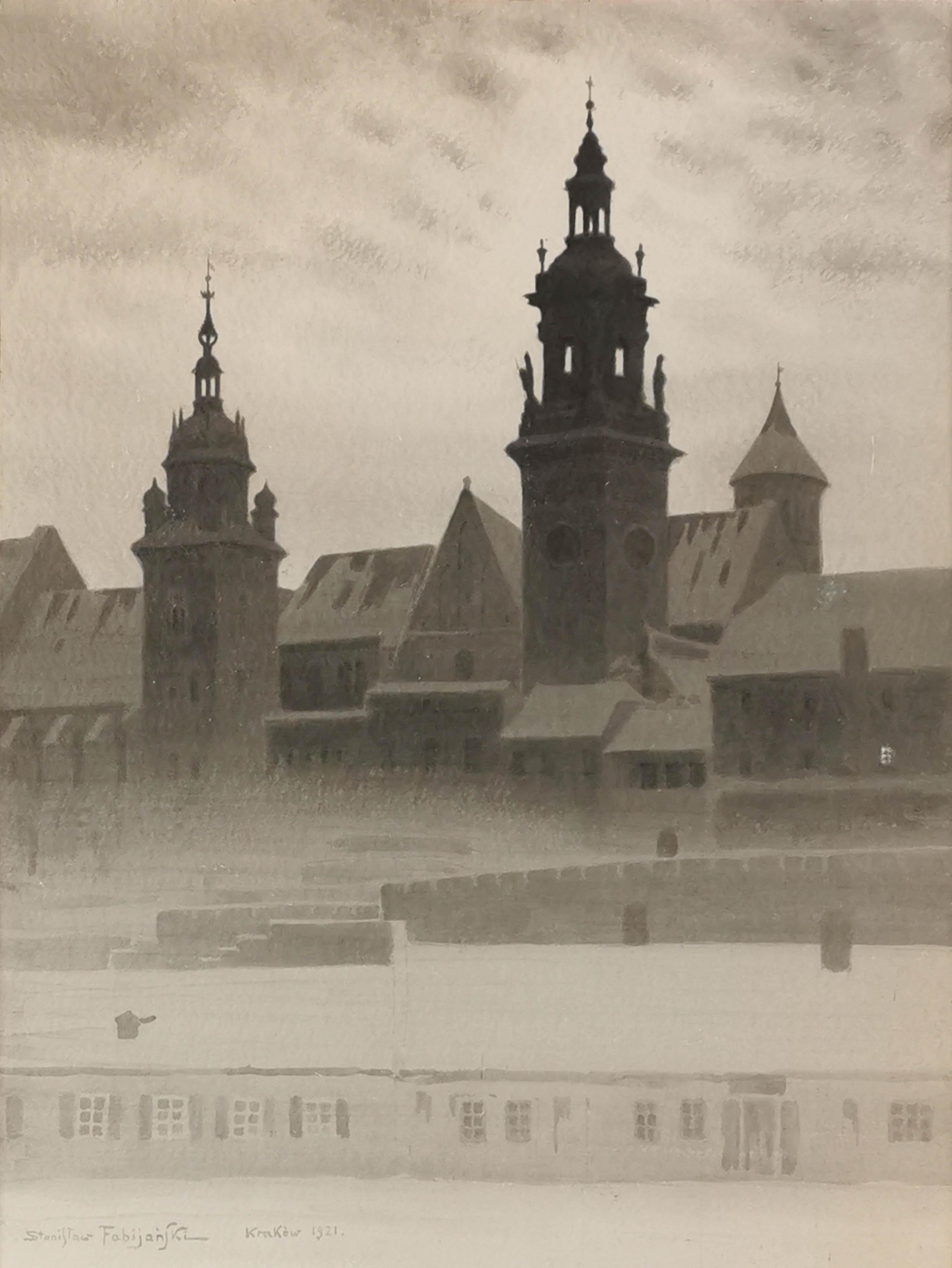Wawel nocą, 1921