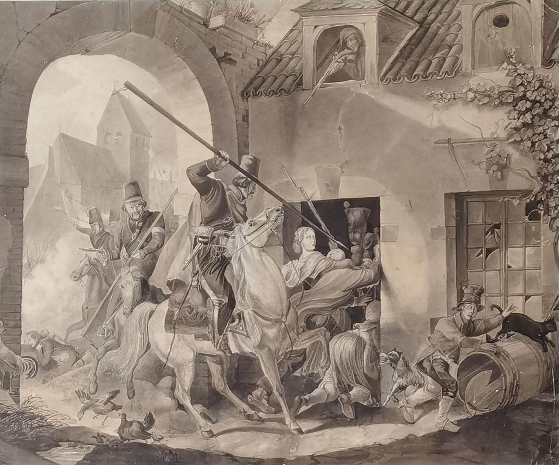 Z wojen napoleońskich, ok. poł. XIX w.