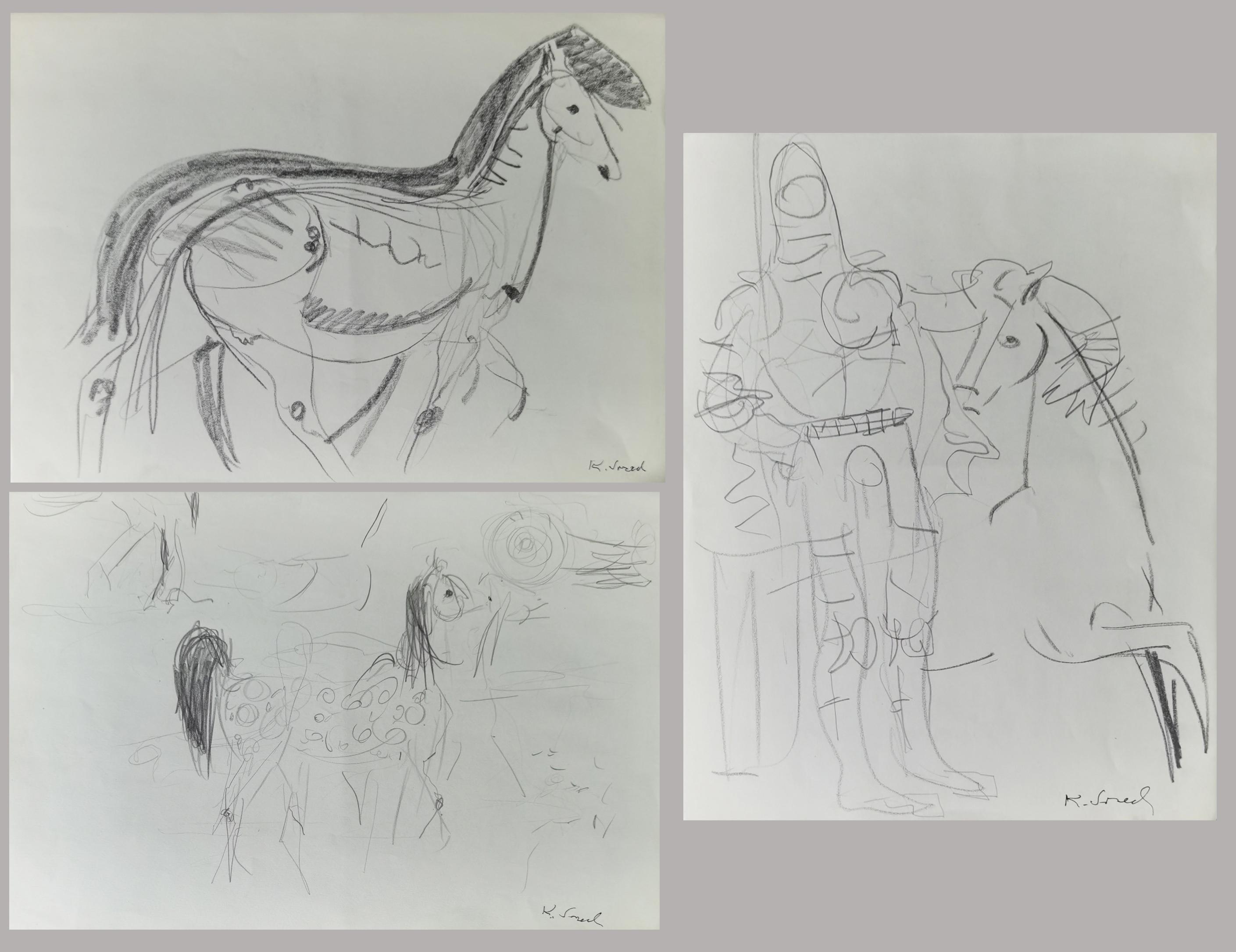 Zestaw 8 rysunków