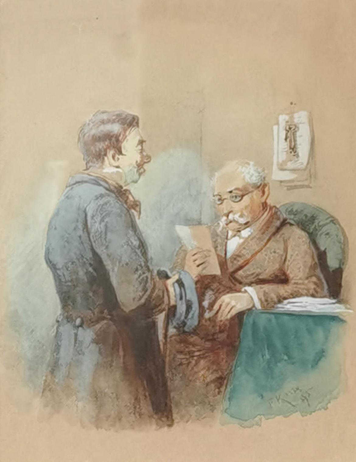 Dostarczono list, 1895