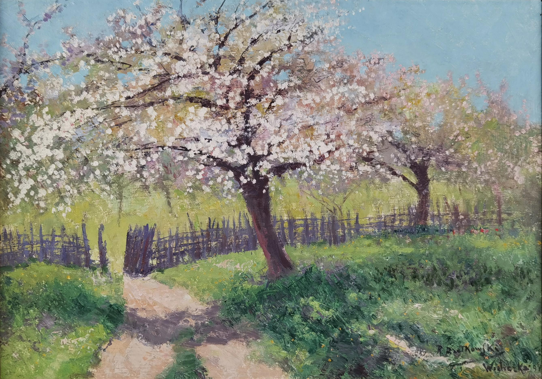 Kwitnące jabłonie, 1943