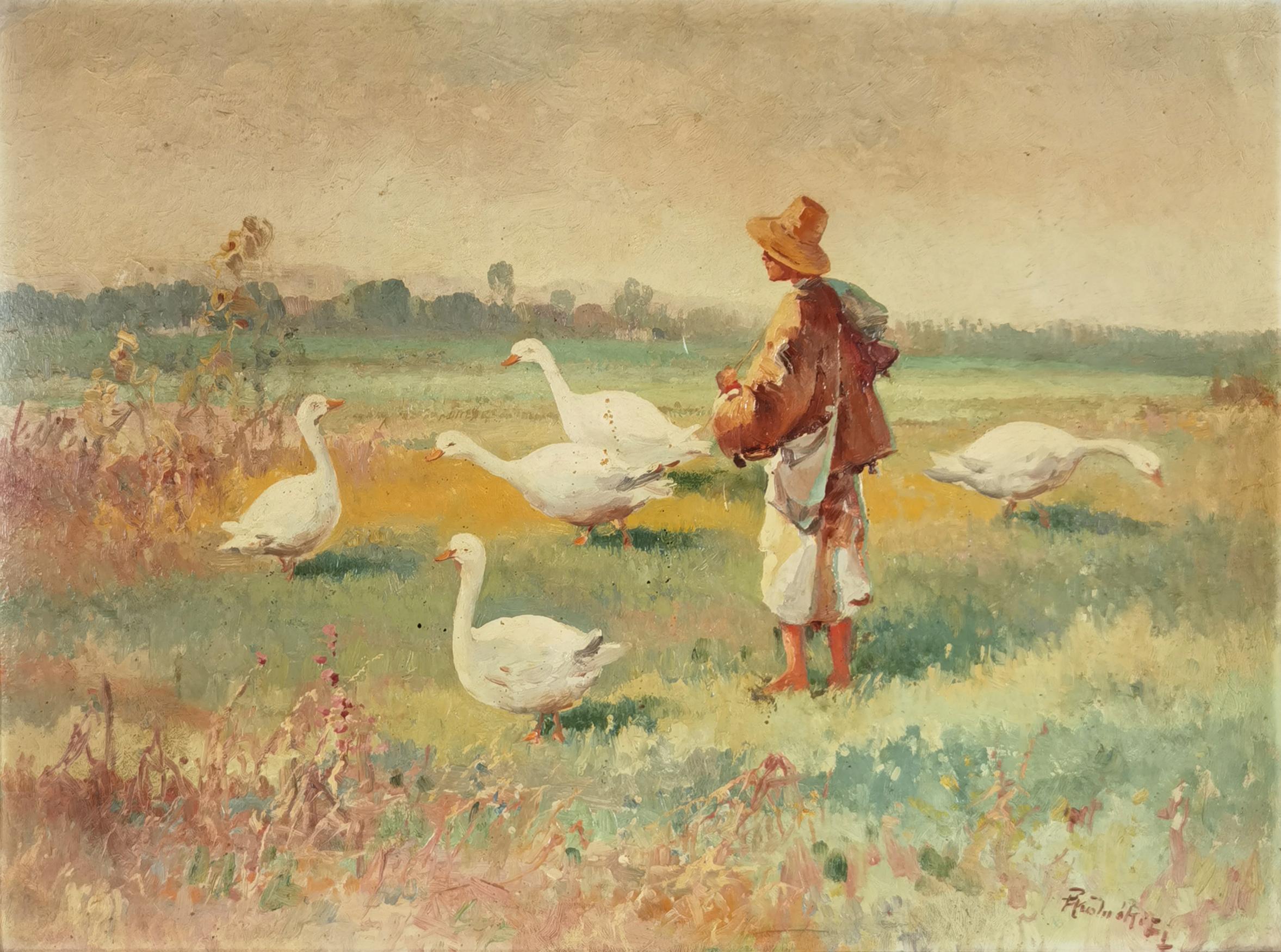 Pastuszek z gęsiami