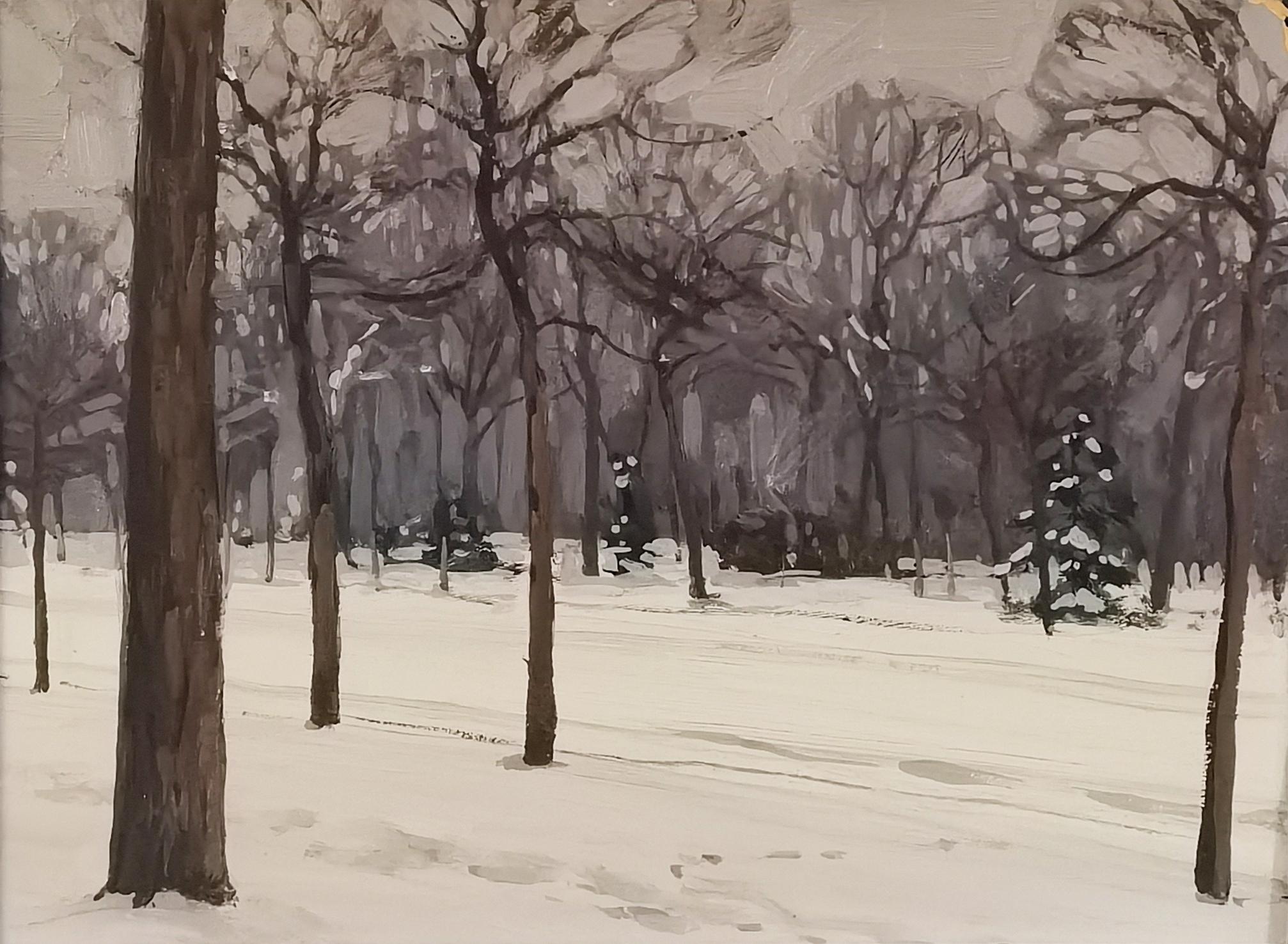 Motyw zimowy