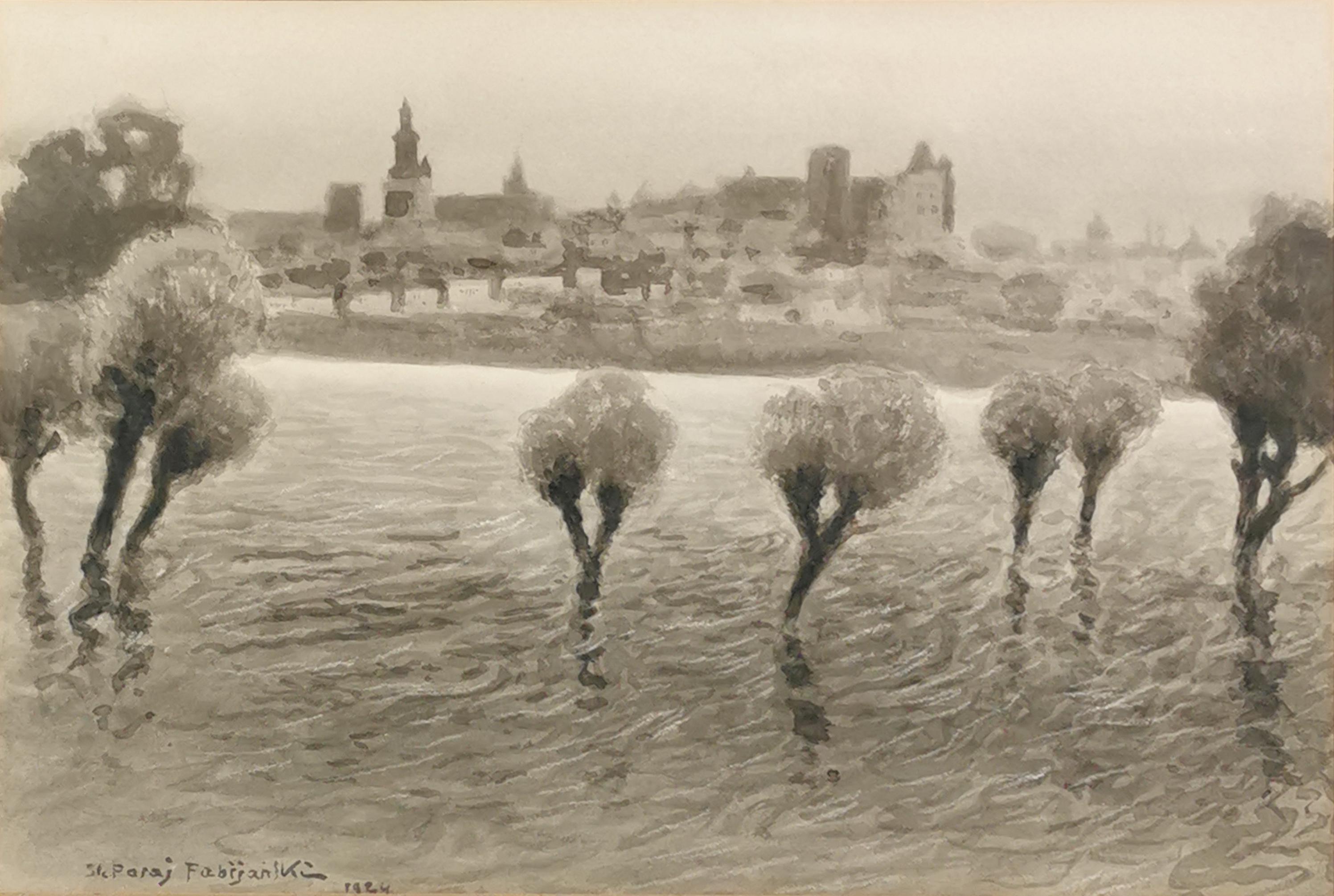 Wylew Wisły, 1908/1924