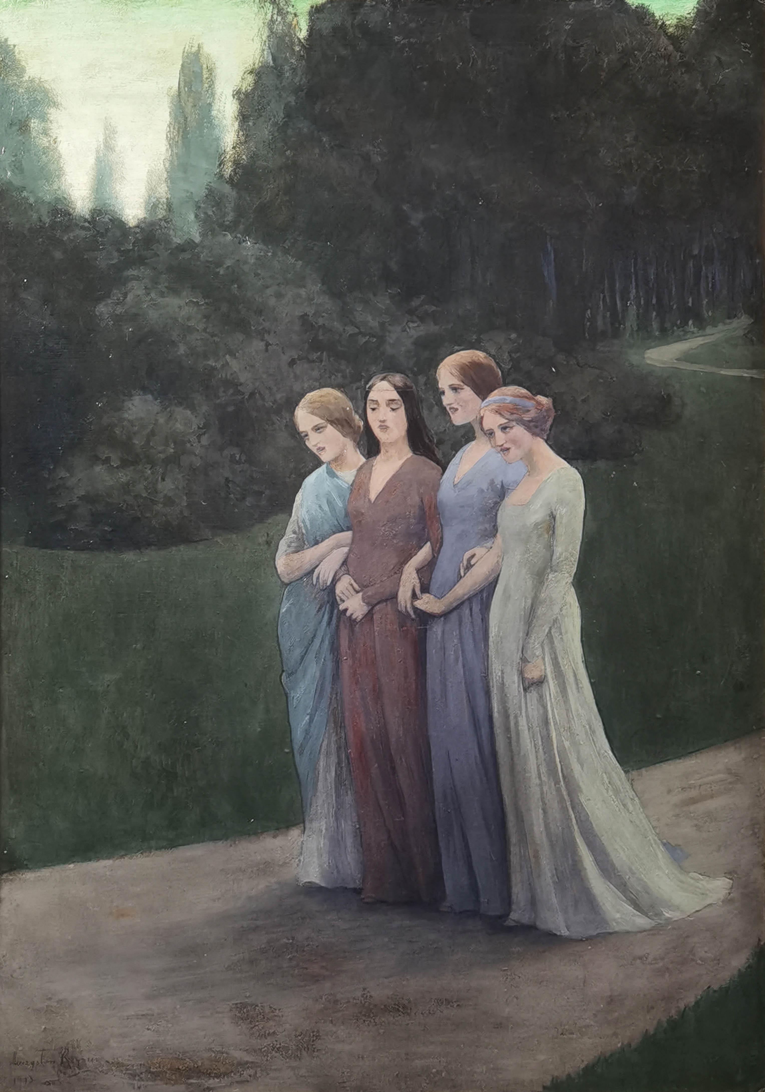 Pieśń wieczorna (Powrót z Komersu), 1913