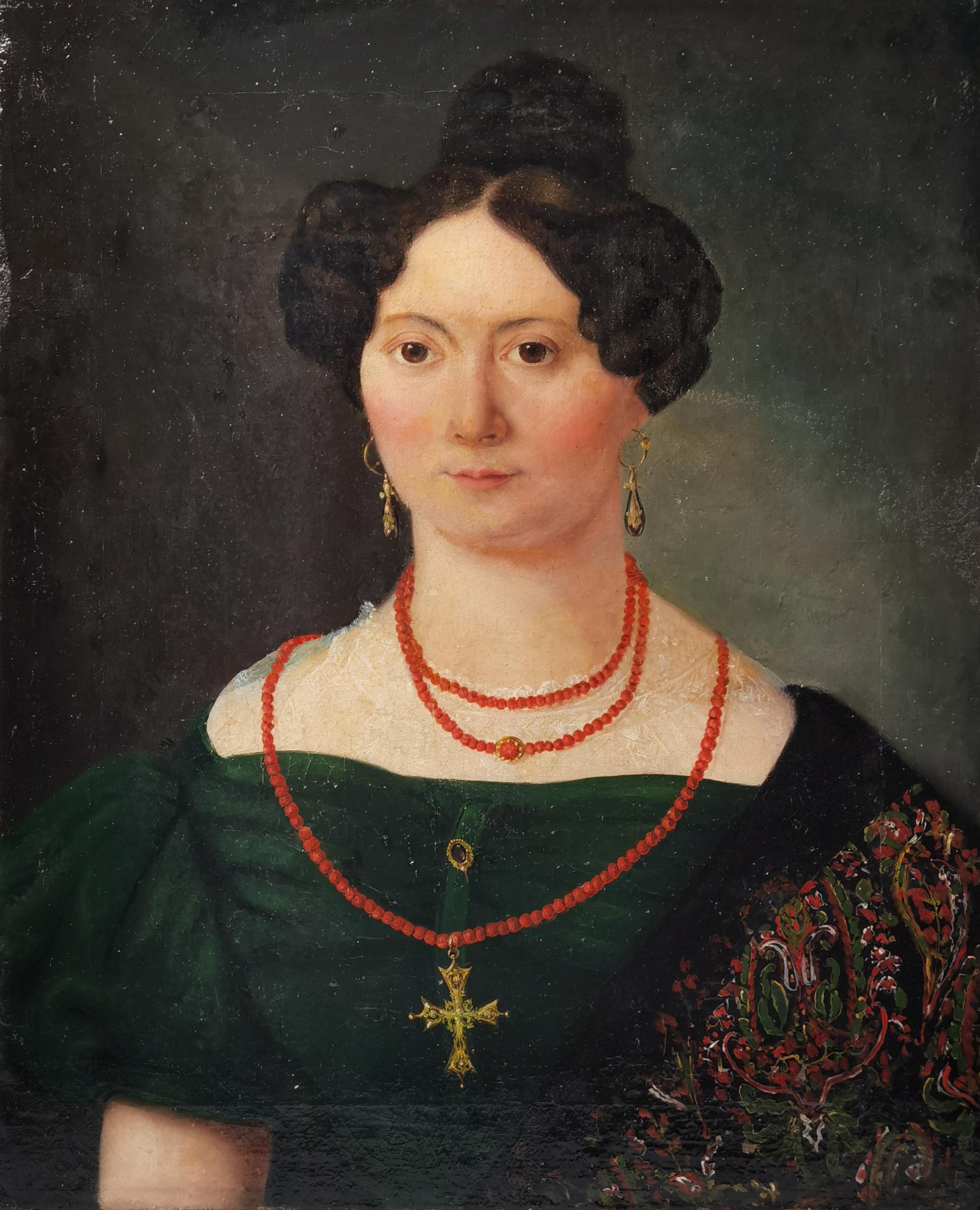 Portret kobiety, ok. 1850
