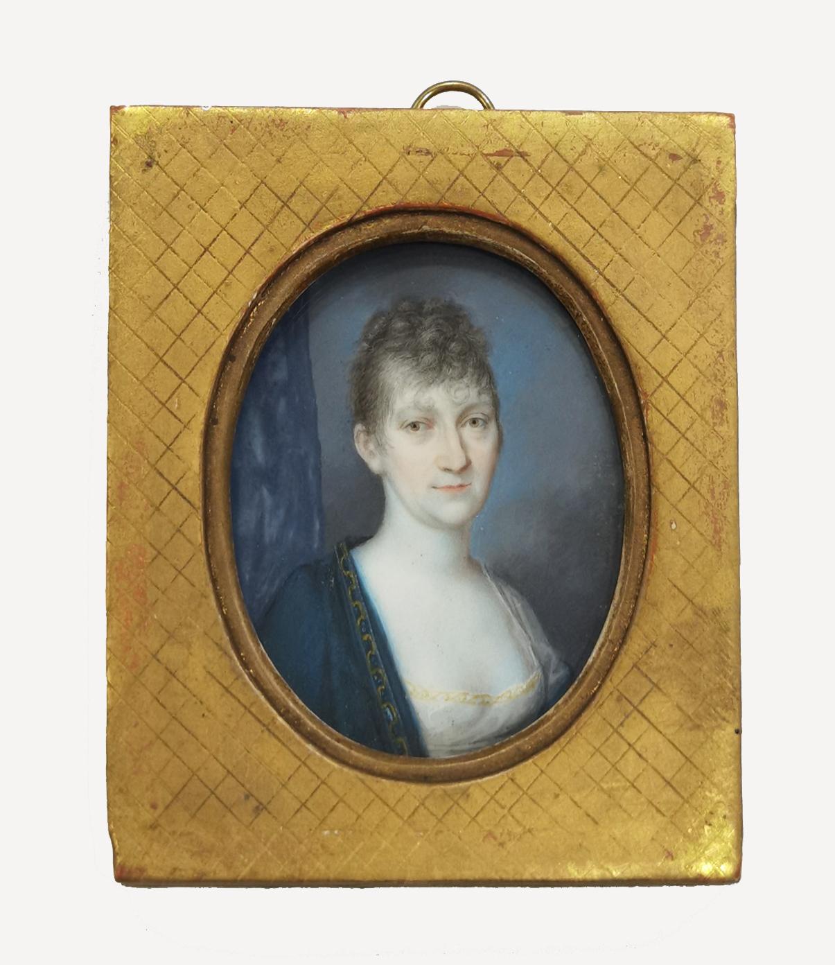 Portret kobiety - miniatura