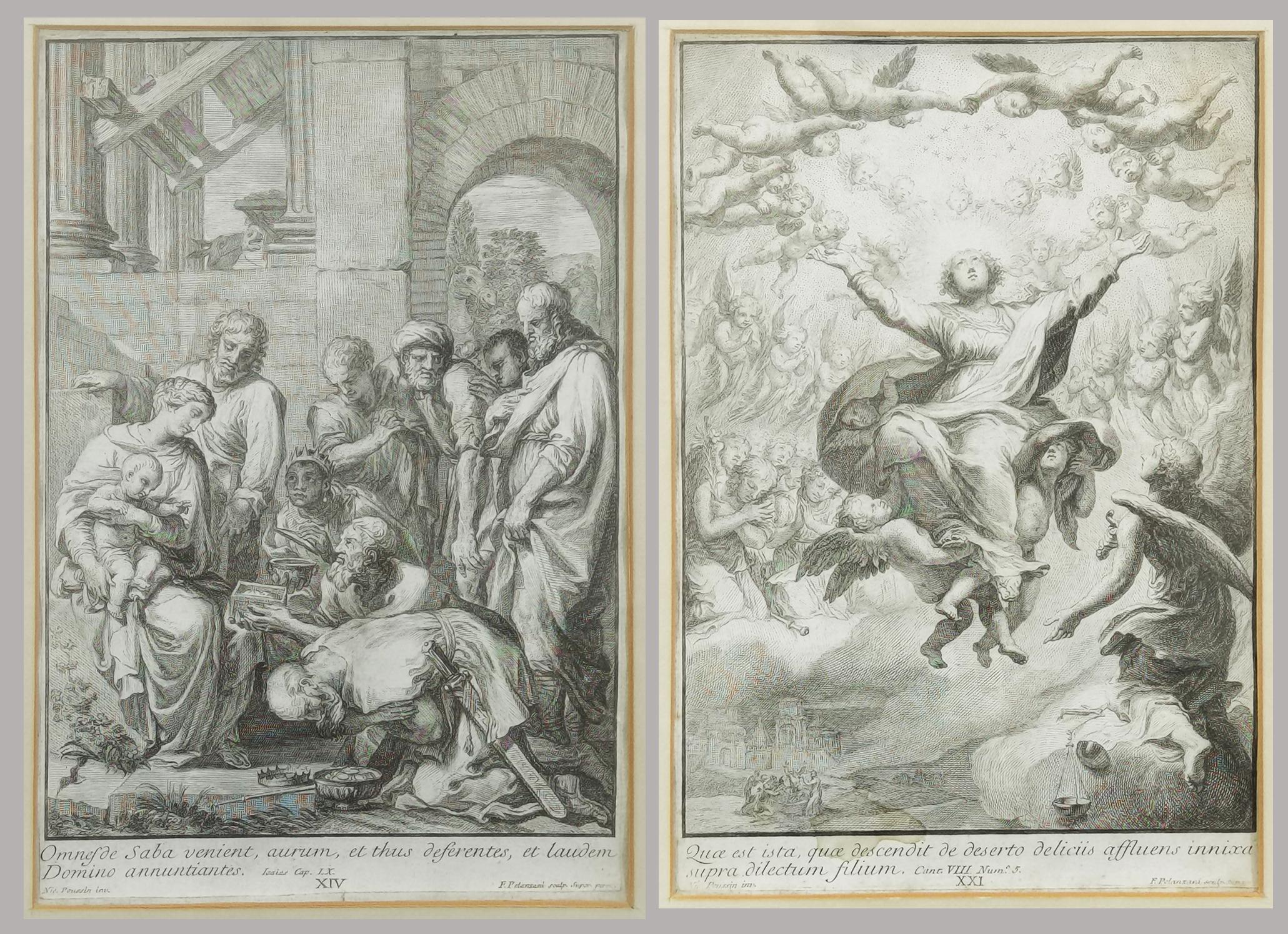 Francesco POLANZANI (1700-ok. 1783) rytował, według: Nicolas POUSSIN (1594-1665)