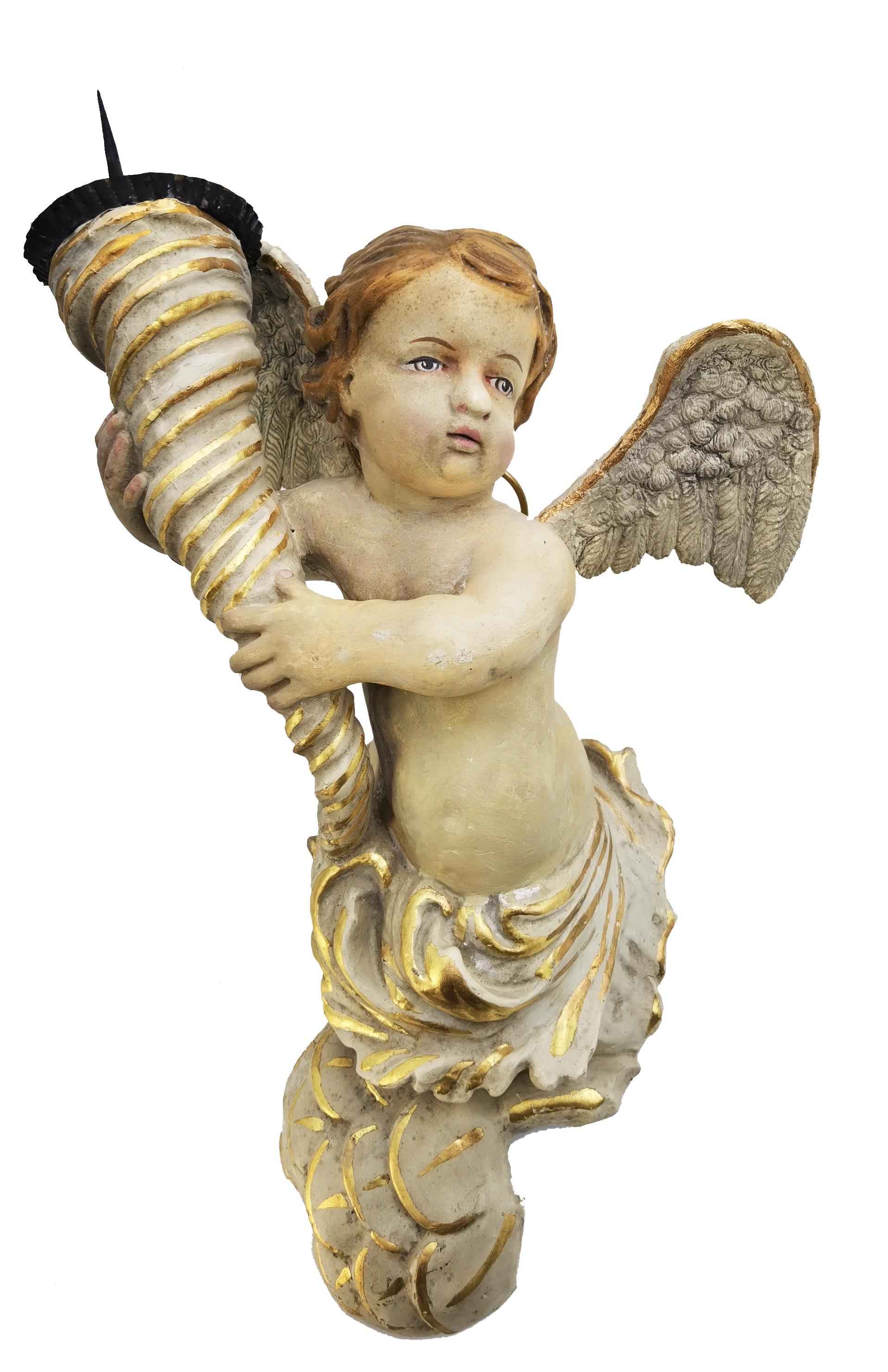 Aniołek - świecznik
