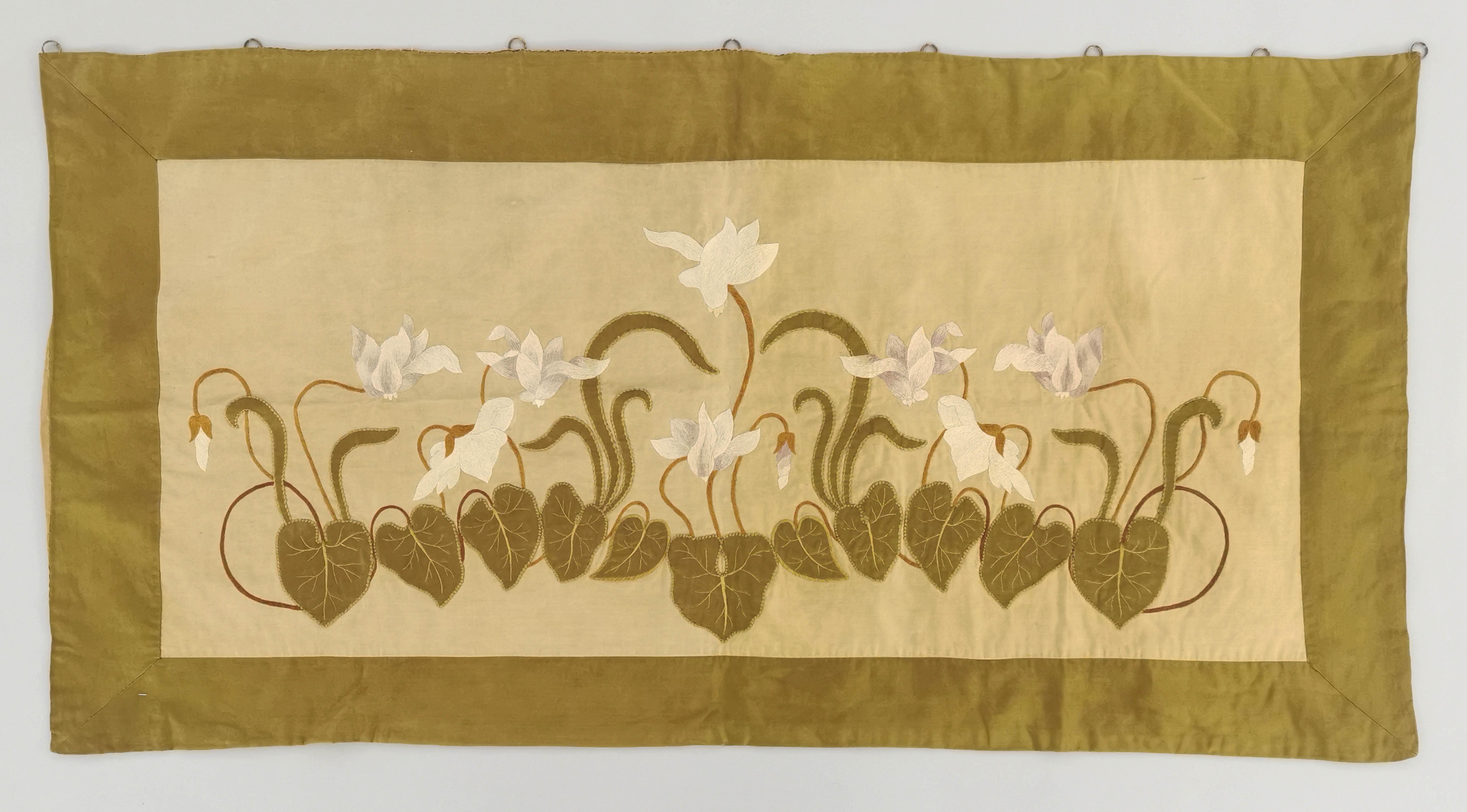 Tkanina dekoracyjna w motywy roślinne