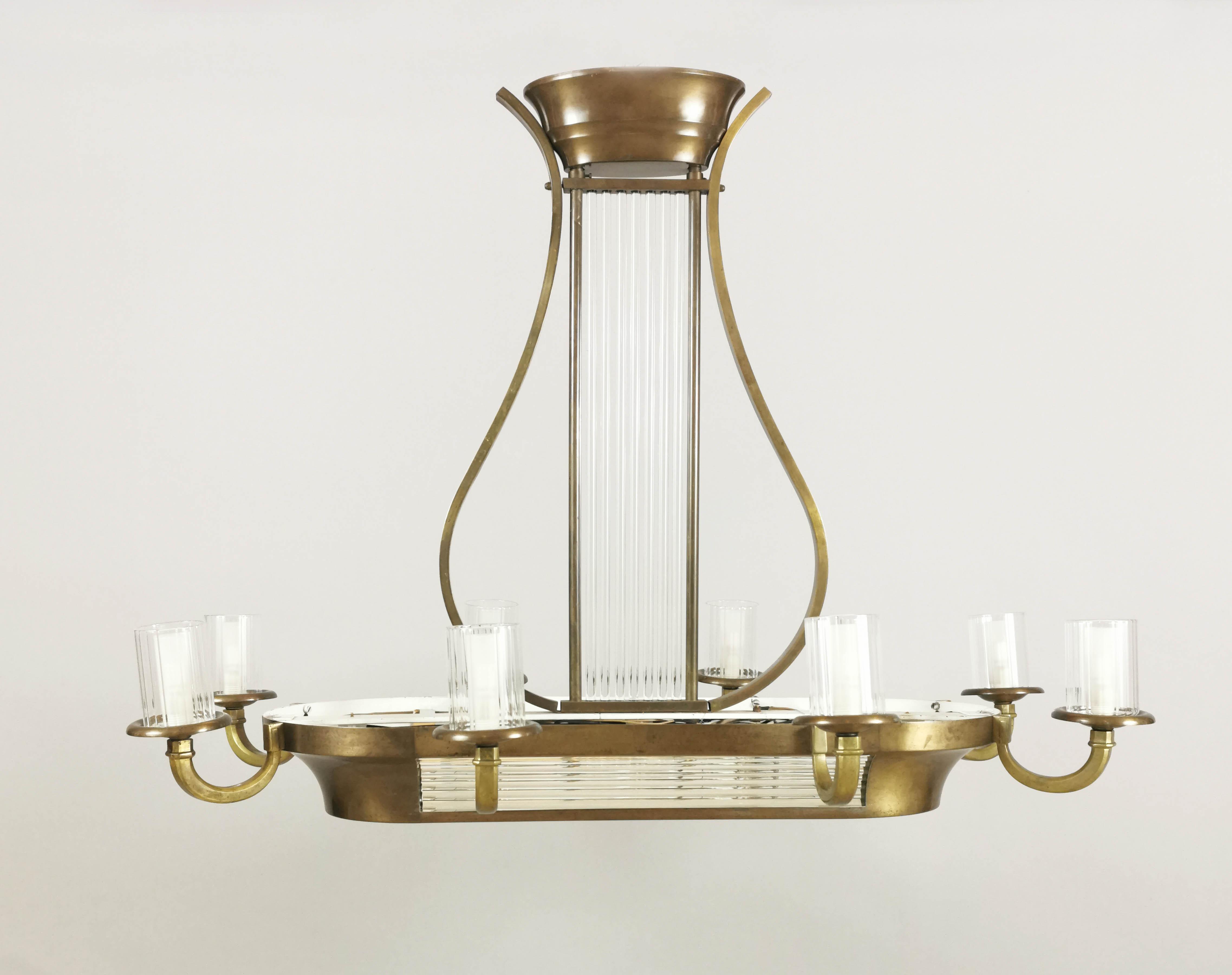 Lampa - żyrandol nad stół bilardowy
