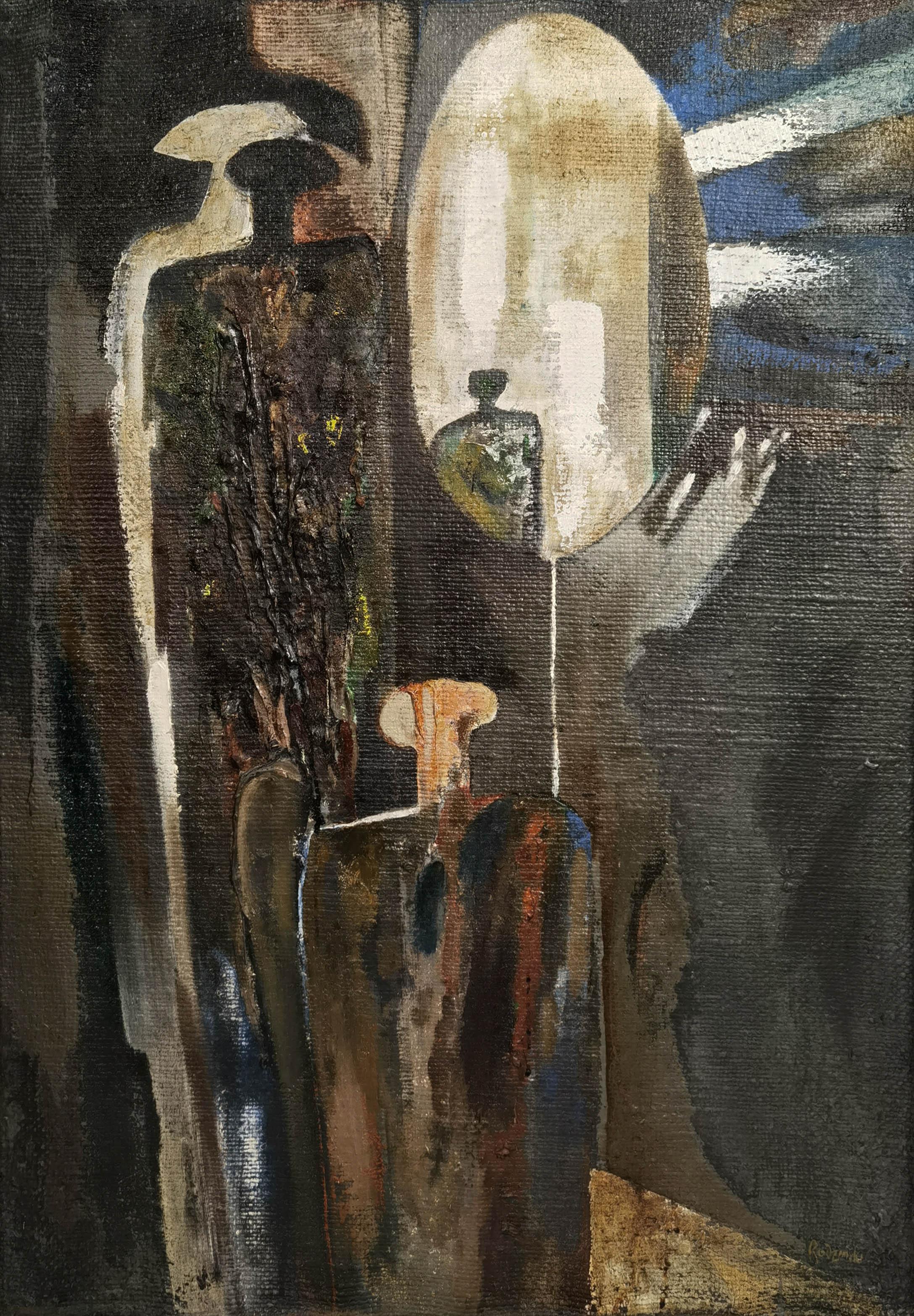 Kompozycja we wnętrzu, 1960