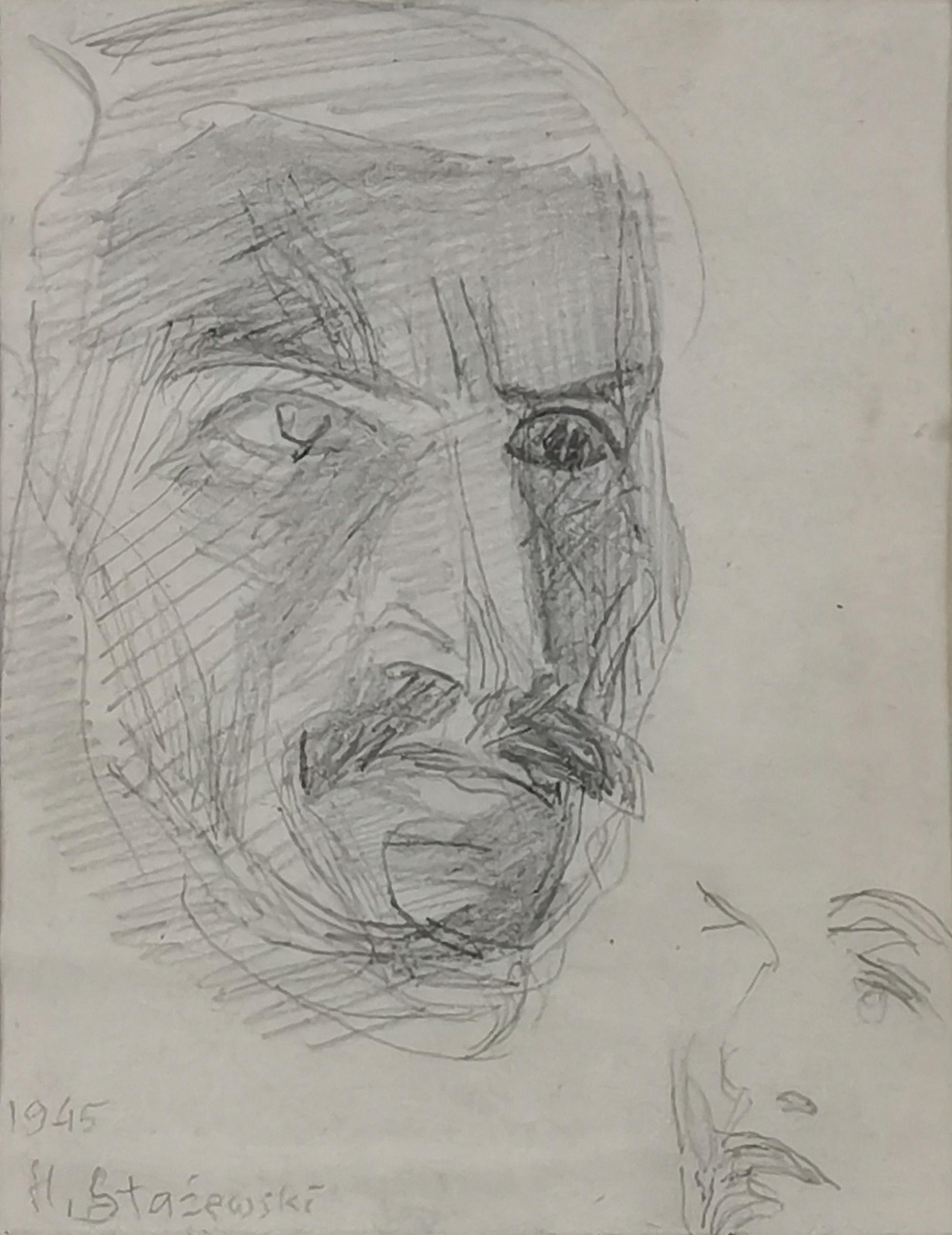 Szkic portretowy, 1945