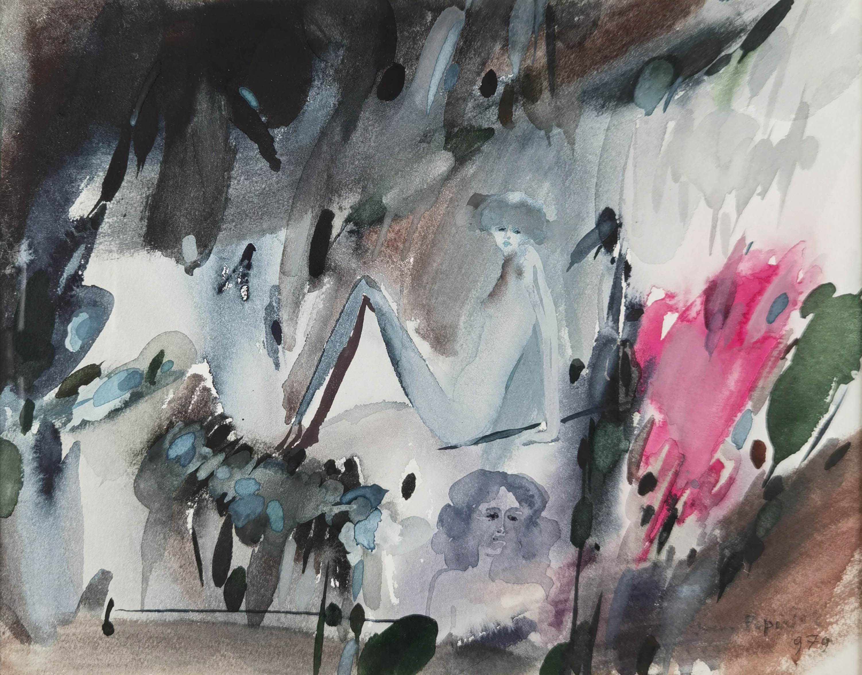 Kompozycja figuralna, 1979