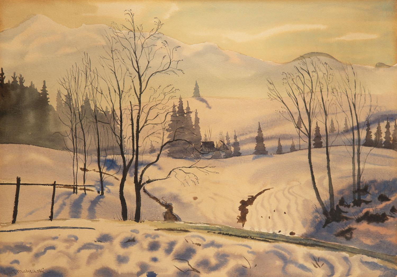 Zimowy pejzaż tatrzański