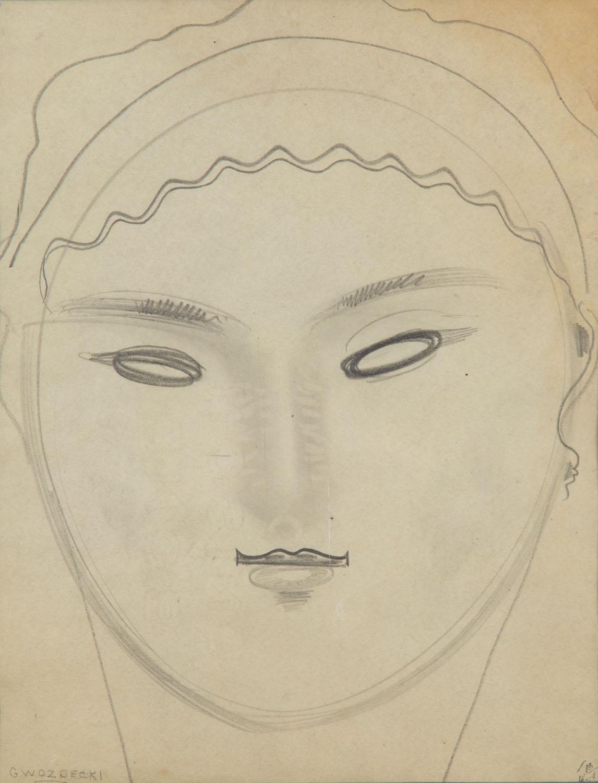 Portret kobiety, 1920