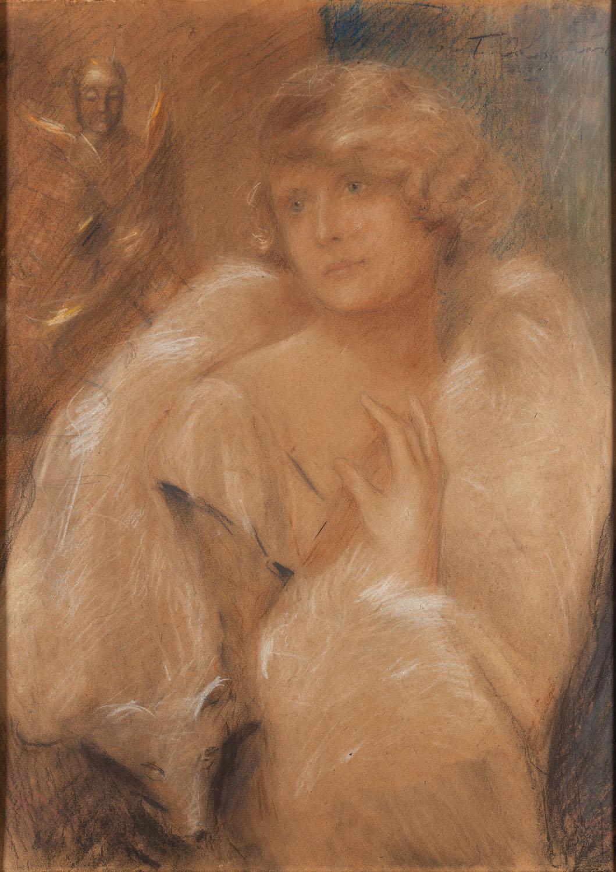 Kobieta w etoli